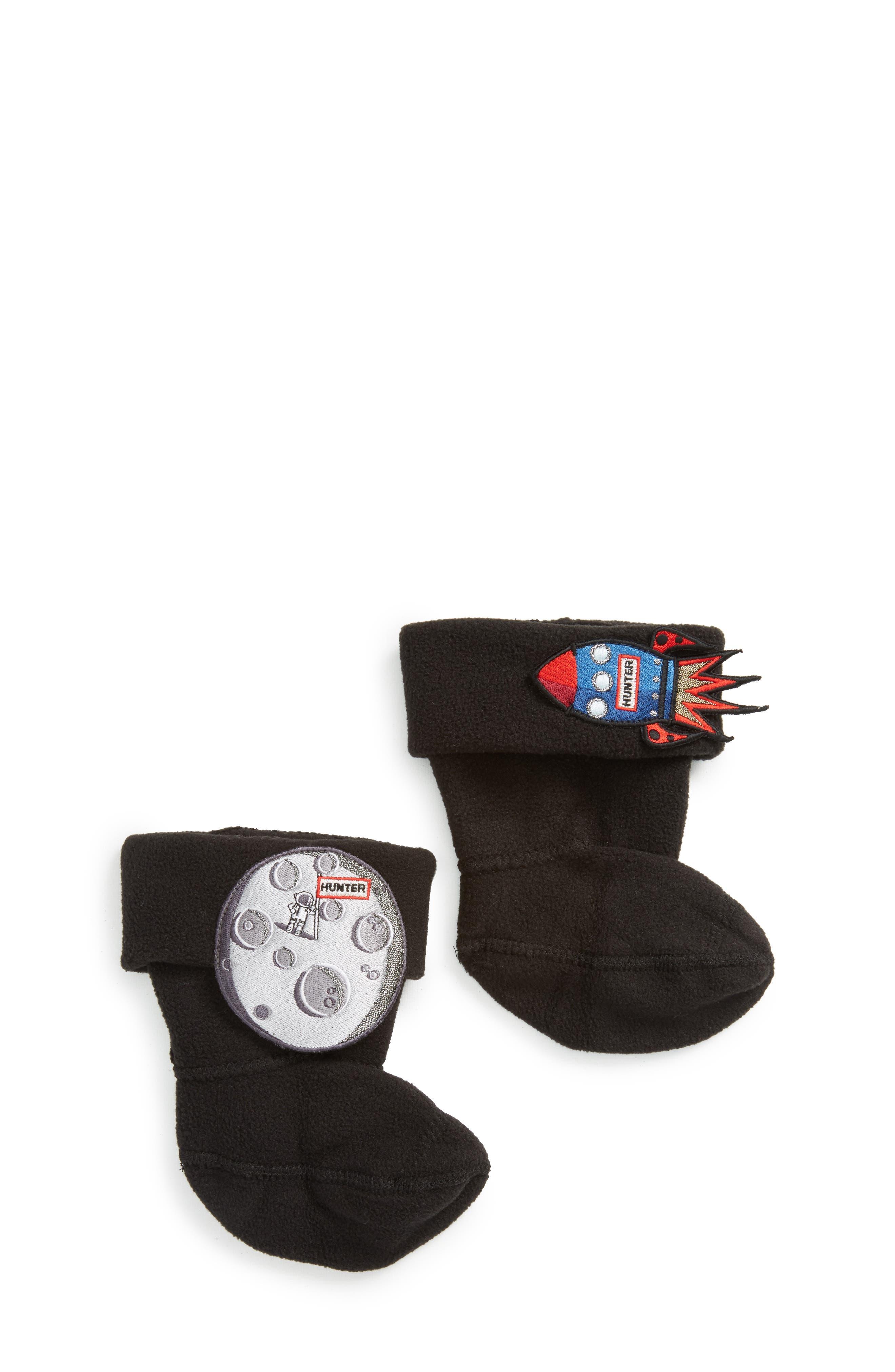 Alternate Image 1 Selected - Hunter Spaceship/Moon Boot Socks (Walker, Toddler & Little Kid)