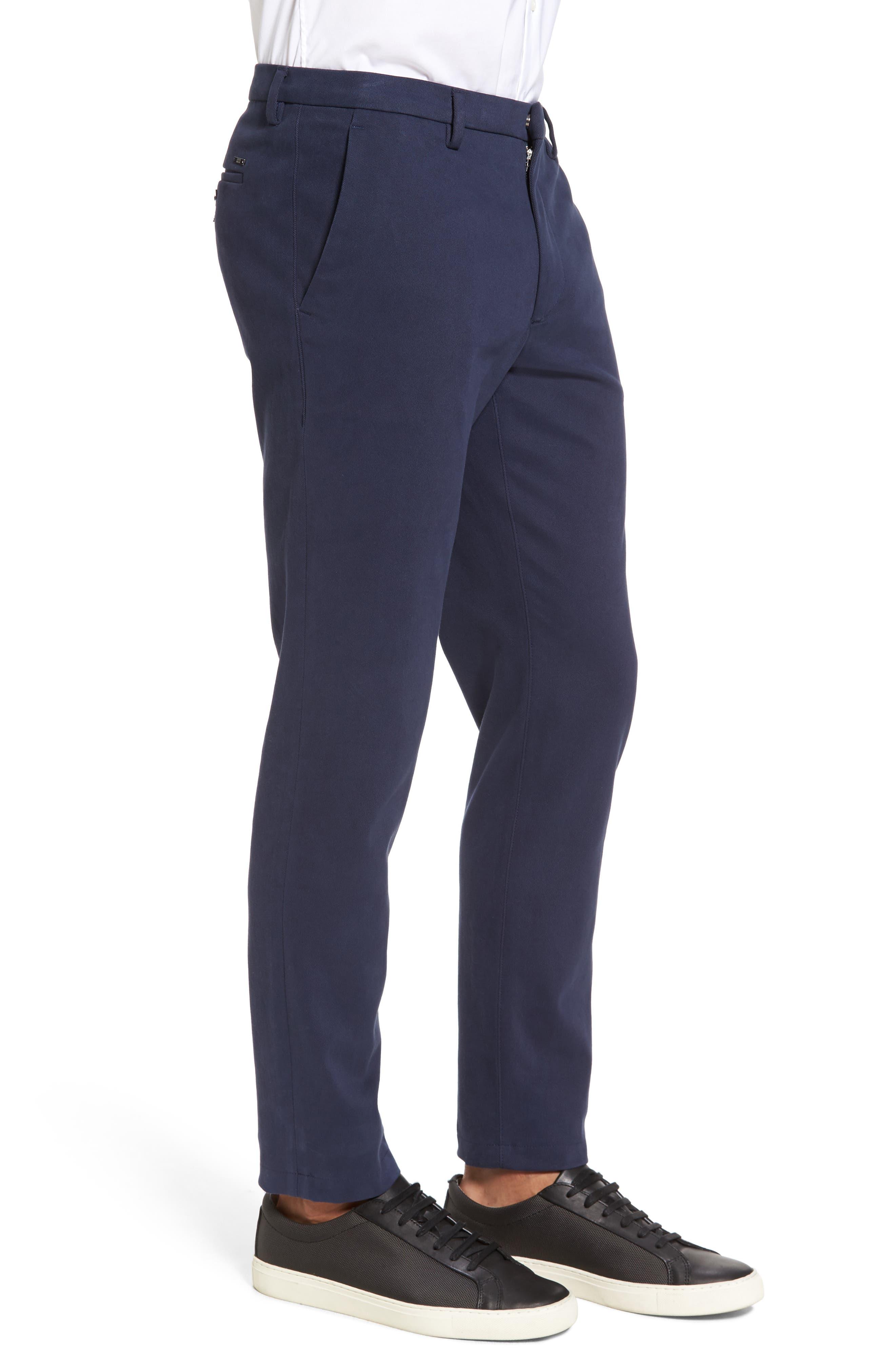 Kaito Stretch Chino Pants,                             Alternate thumbnail 4, color,                             Blue