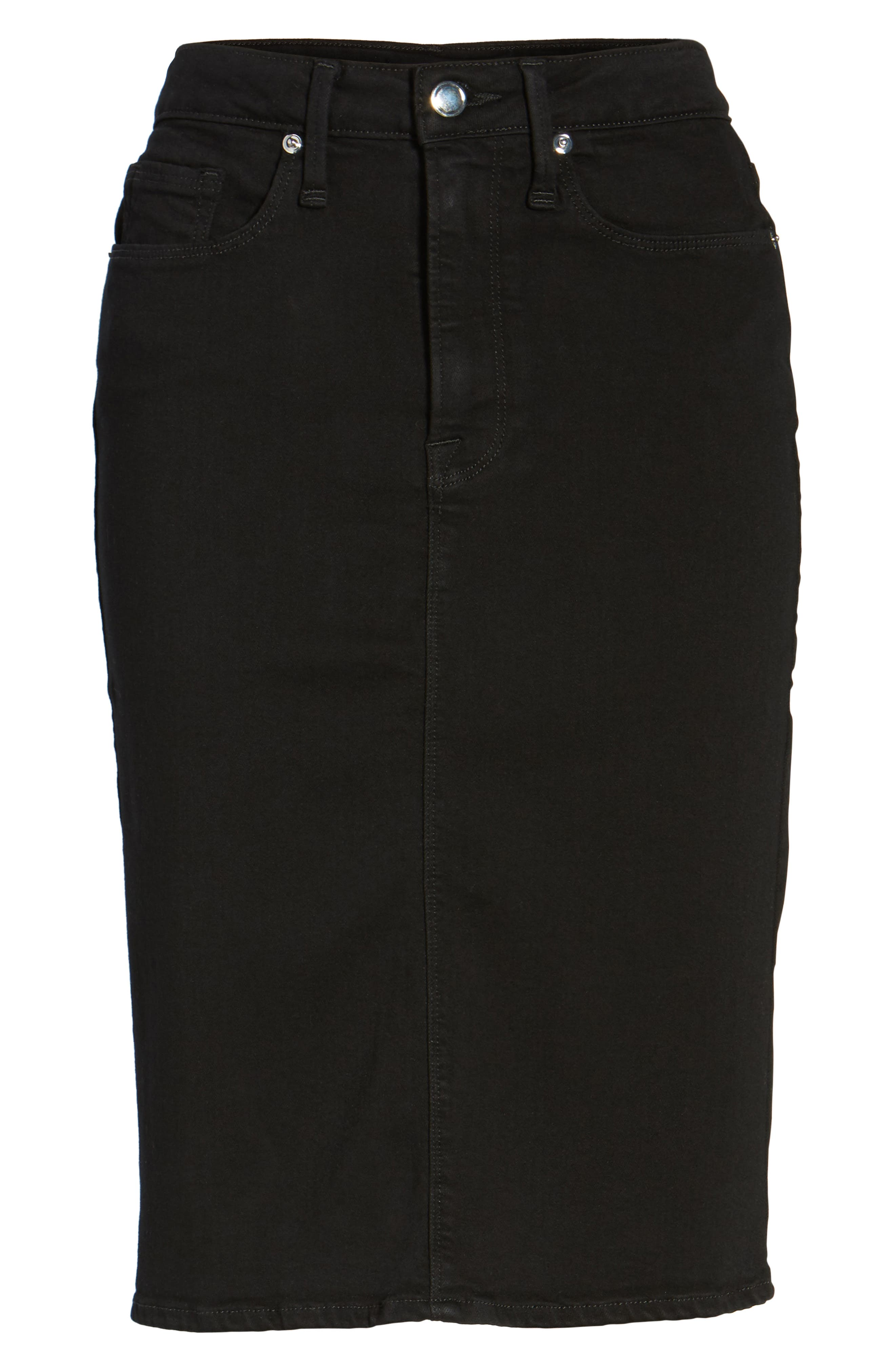 Alternate Image 7  - Good American The Pencil Skirt (Extended Sizes)