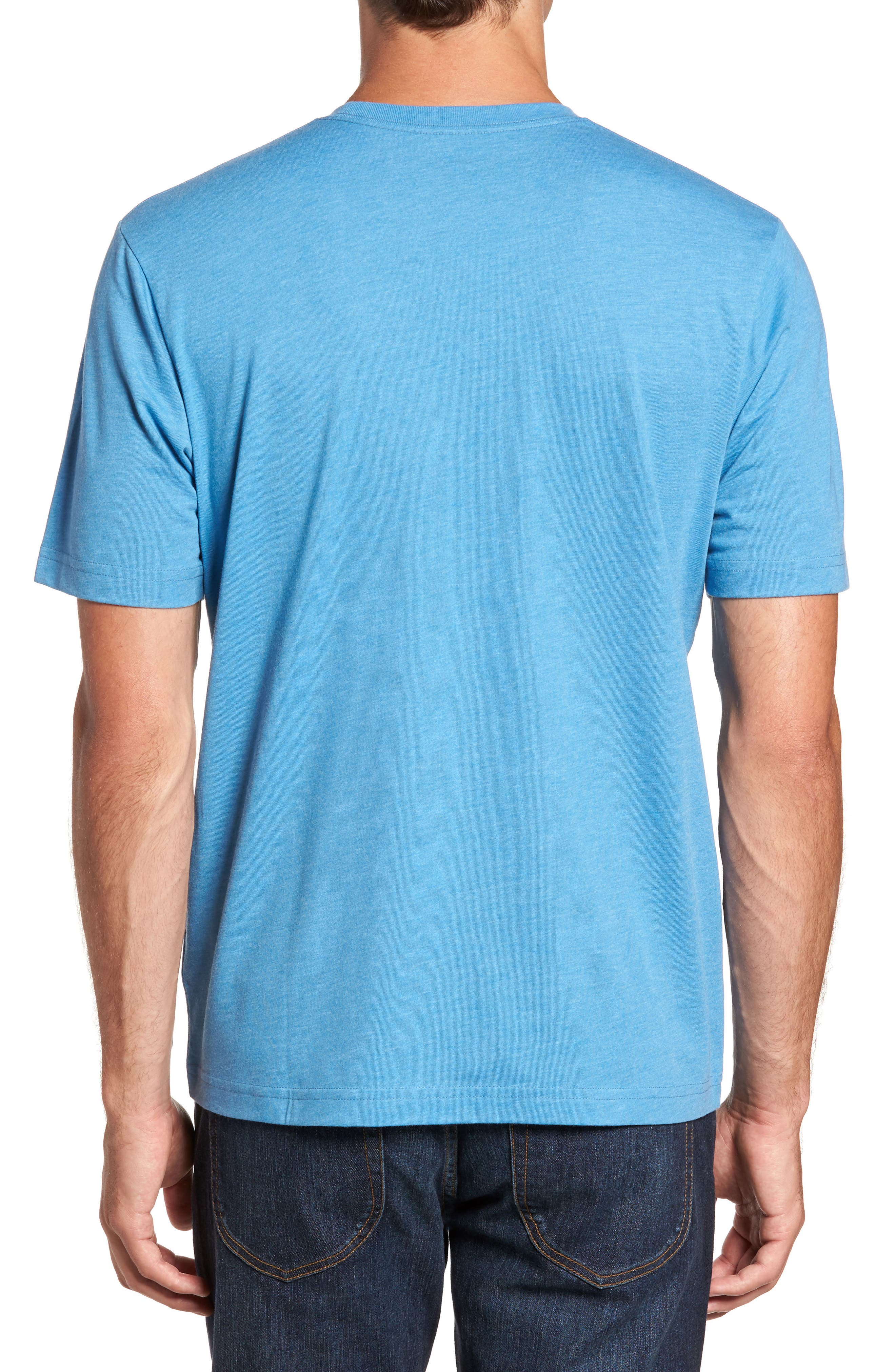Life Champion Graphic T-Shirt,                             Alternate thumbnail 2, color,                             Heather Blue