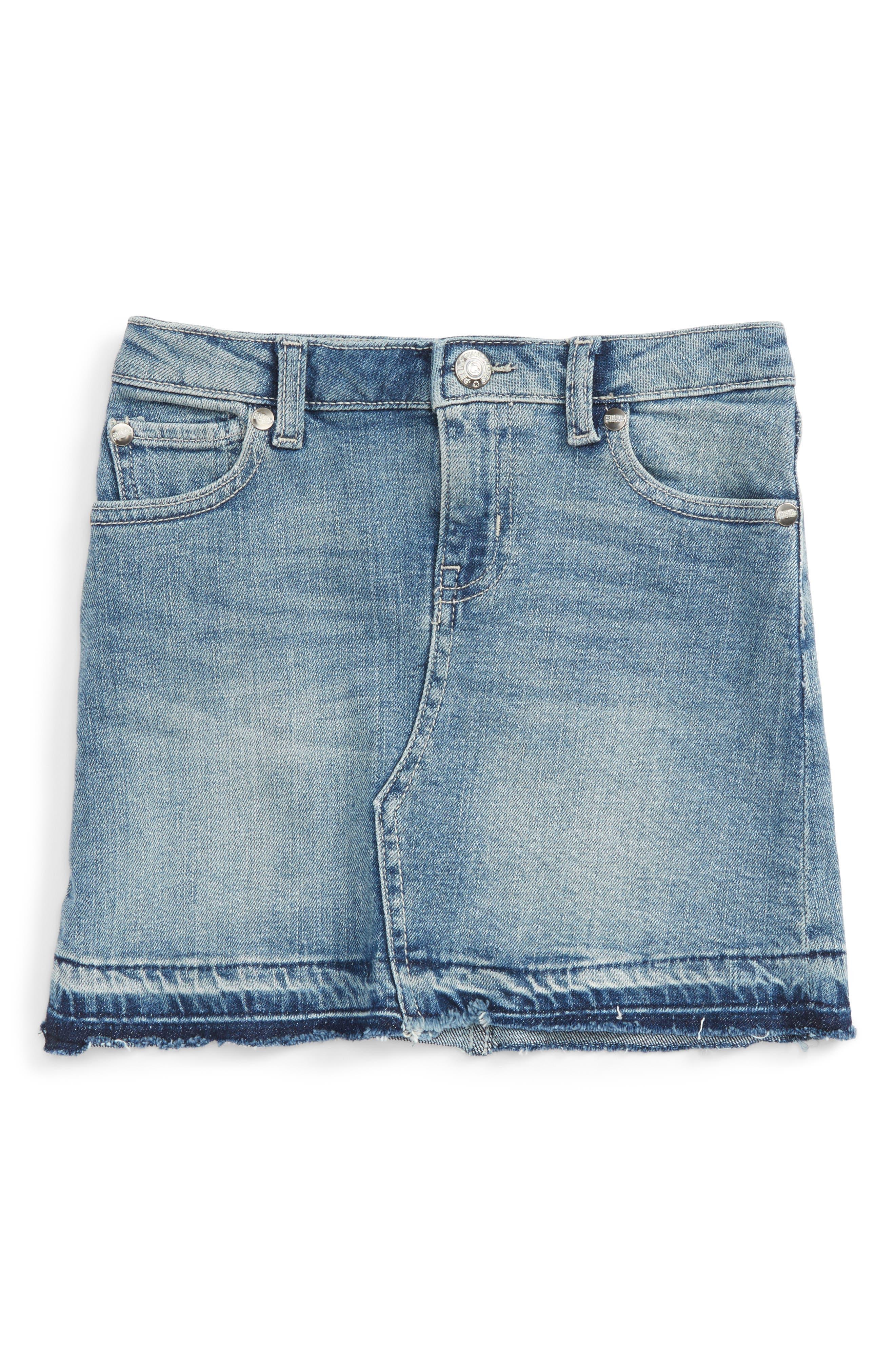 Peek Riley Denim Skirt (Toddler Girls, Little Girls & Big Girls)