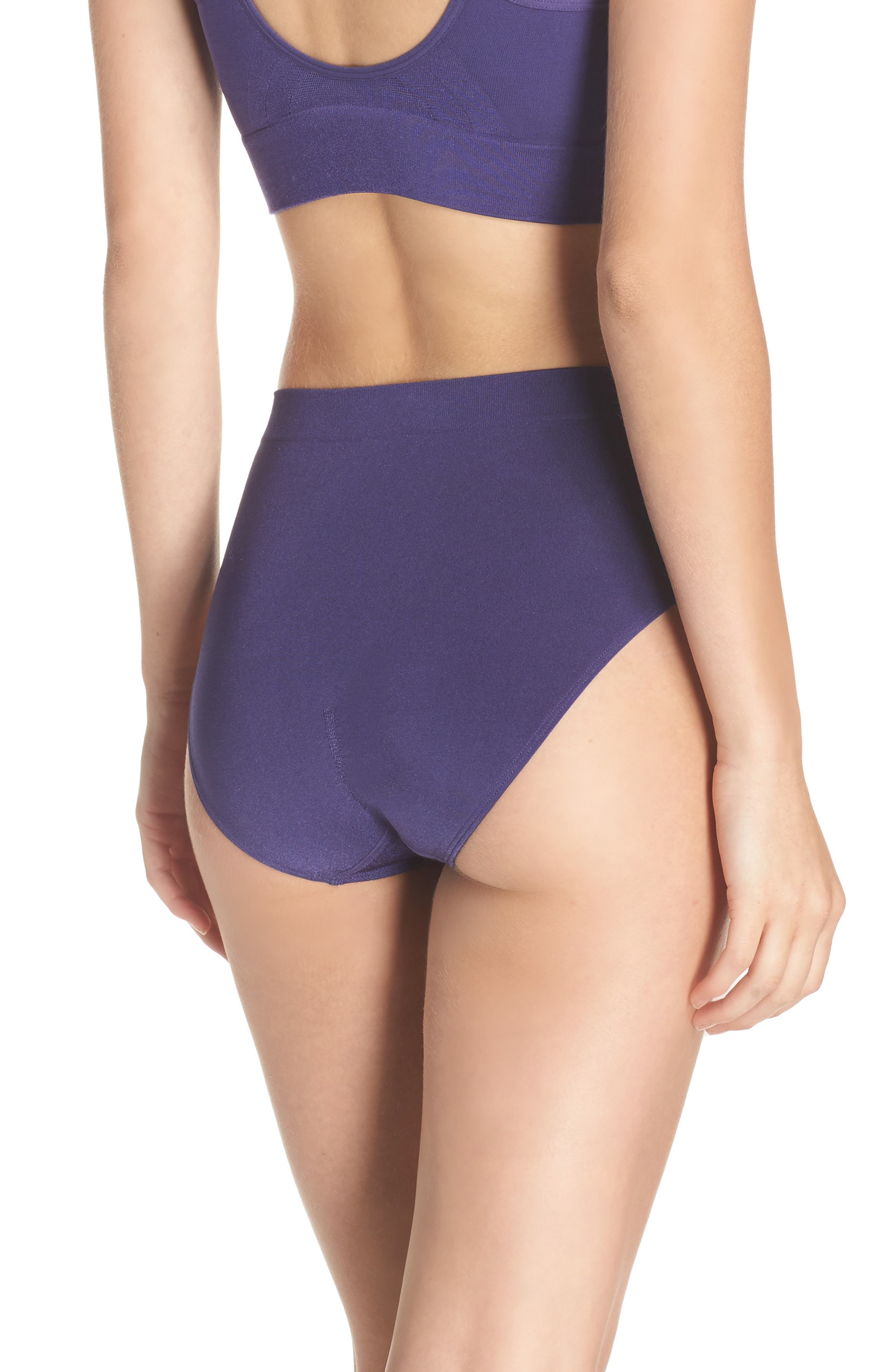 Alternate Image 2  - Wacoal B Smooth High Cut Briefs (3 for $39)