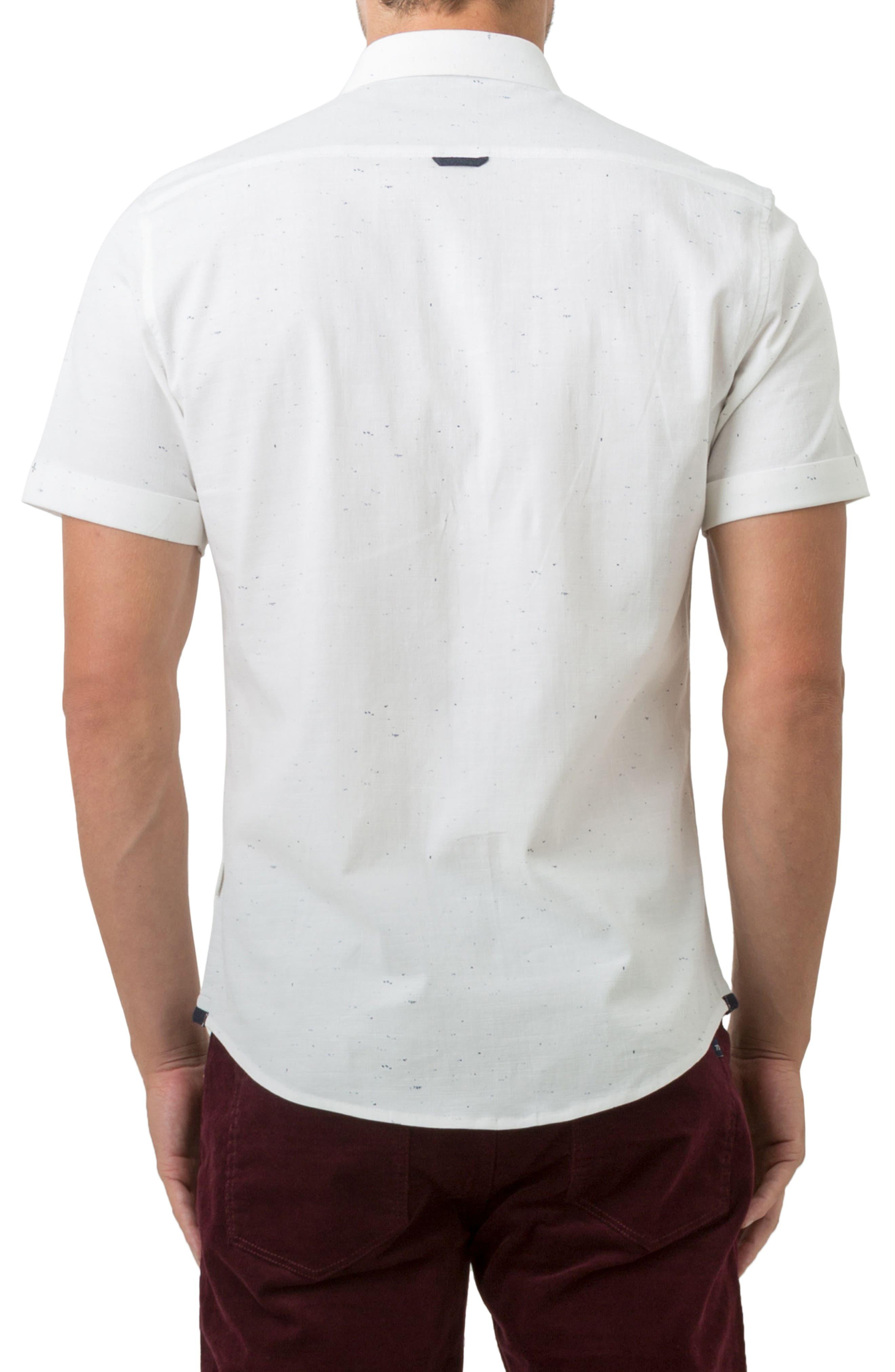 Mystic Traveler Woven Shirt,                             Alternate thumbnail 2, color,                             White