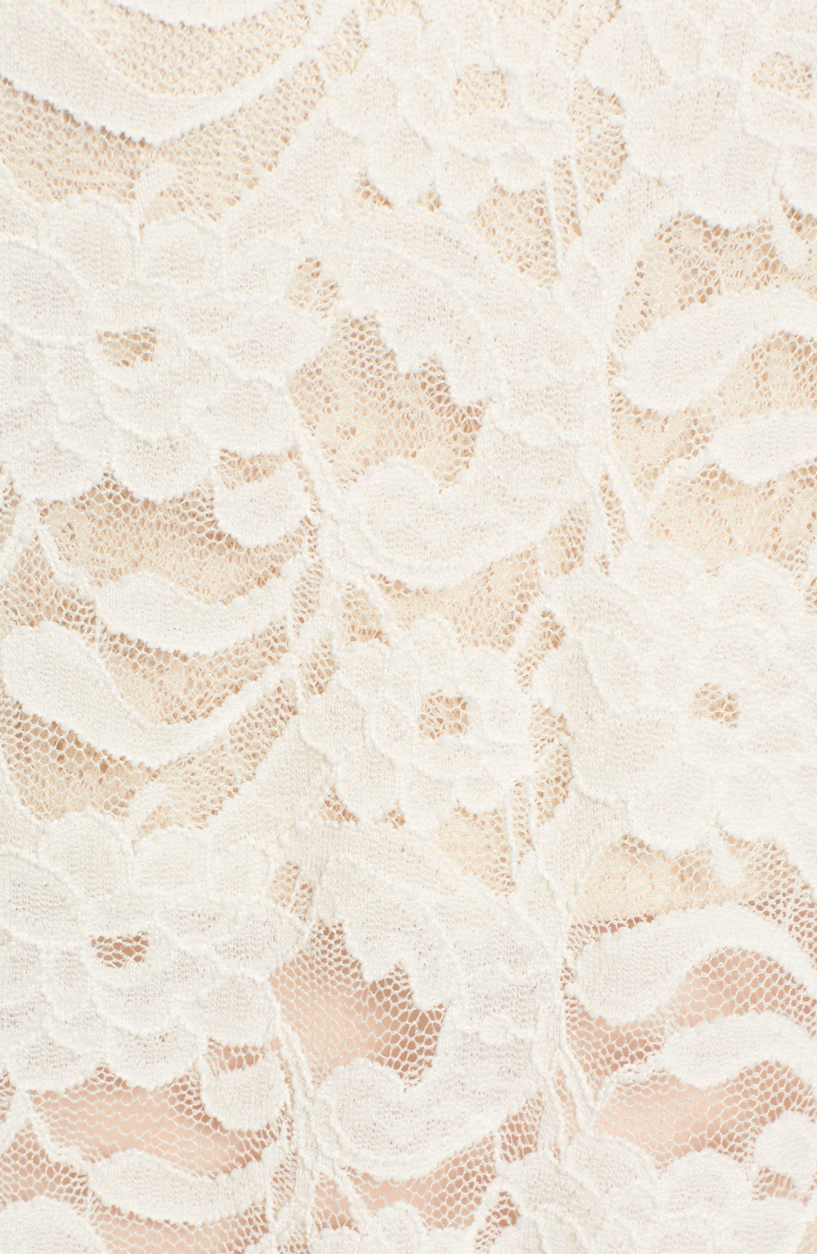 Alternate Image 5  - Hinge Lace Top