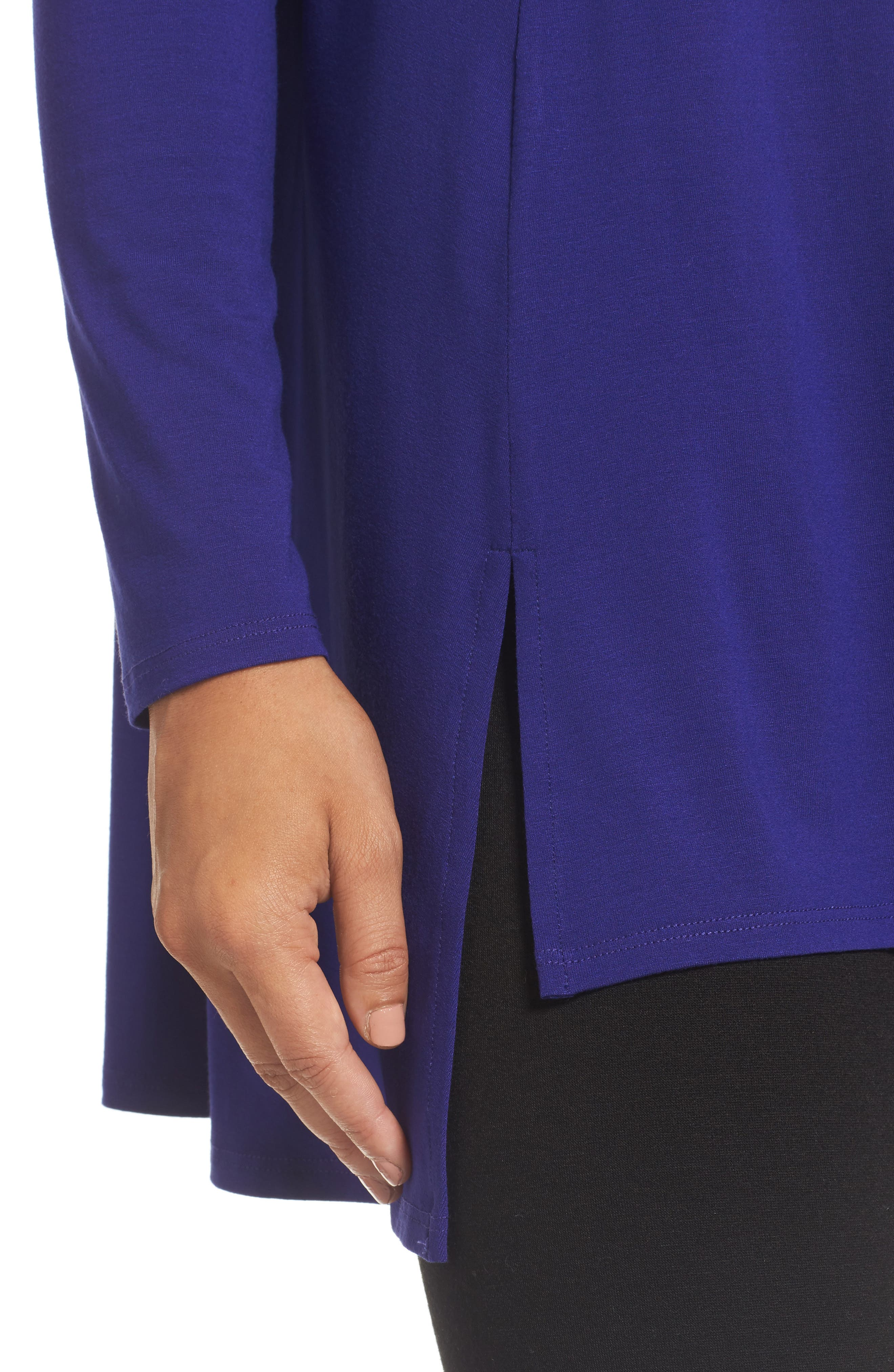 Alternate Image 4  - Eileen Fisher Scoop Neck Tunic