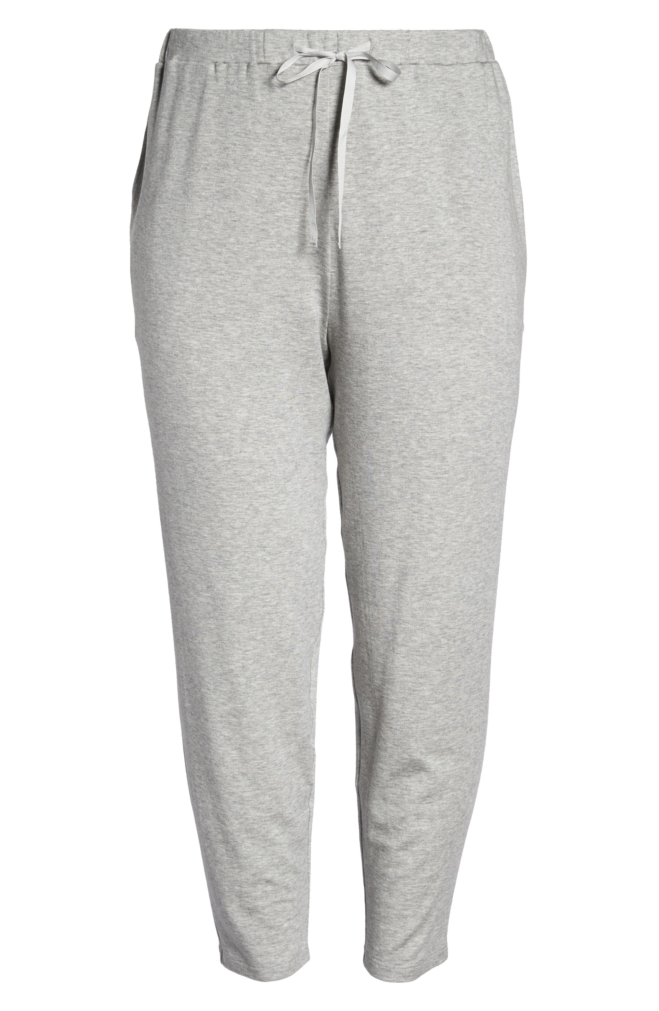 Alternate Image 6  - Eileen Fisher Drawstring Ankle Pants (Plus Size)