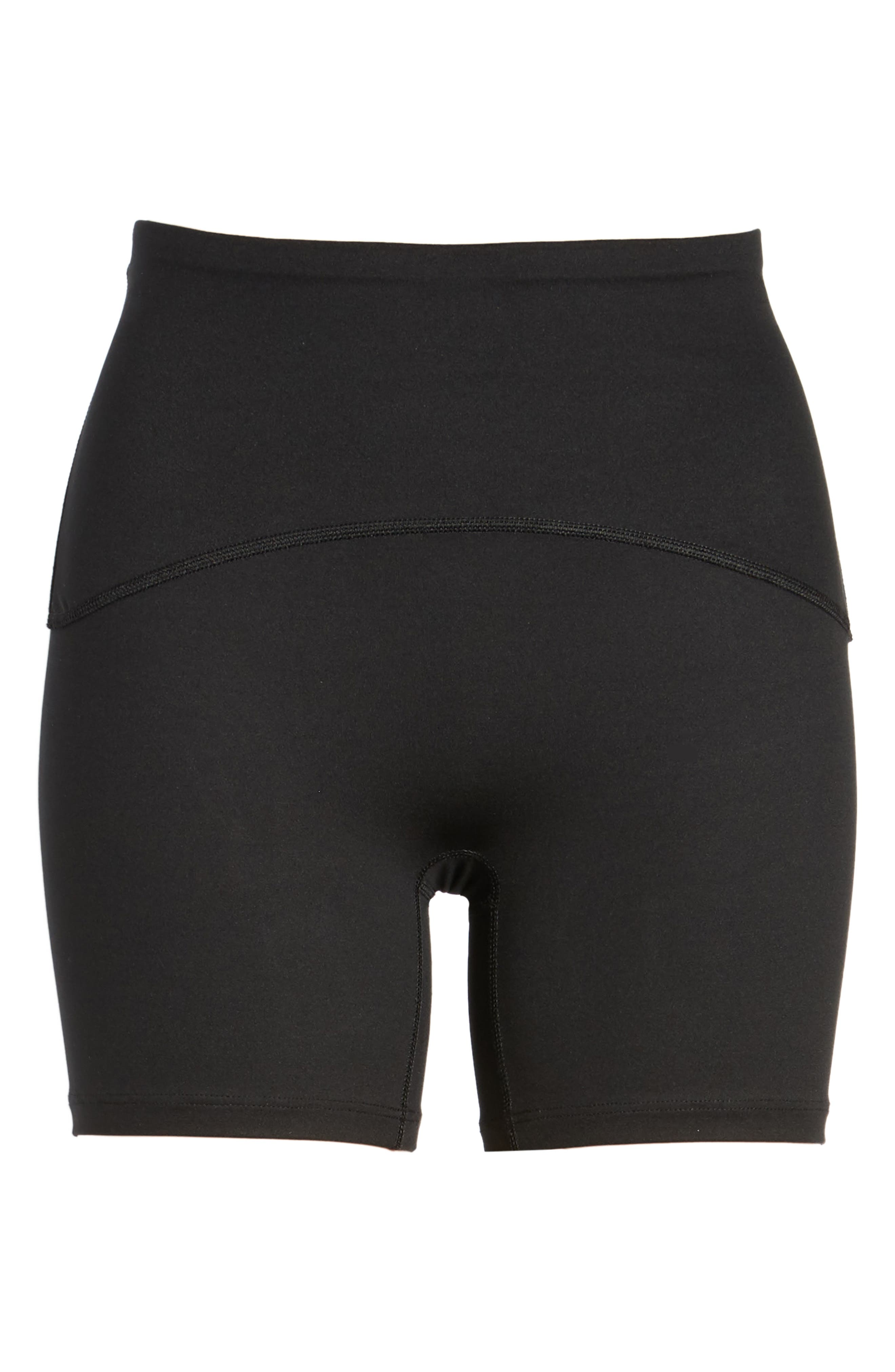 Sport Compression Shorts,                             Alternate thumbnail 6, color,                             Black