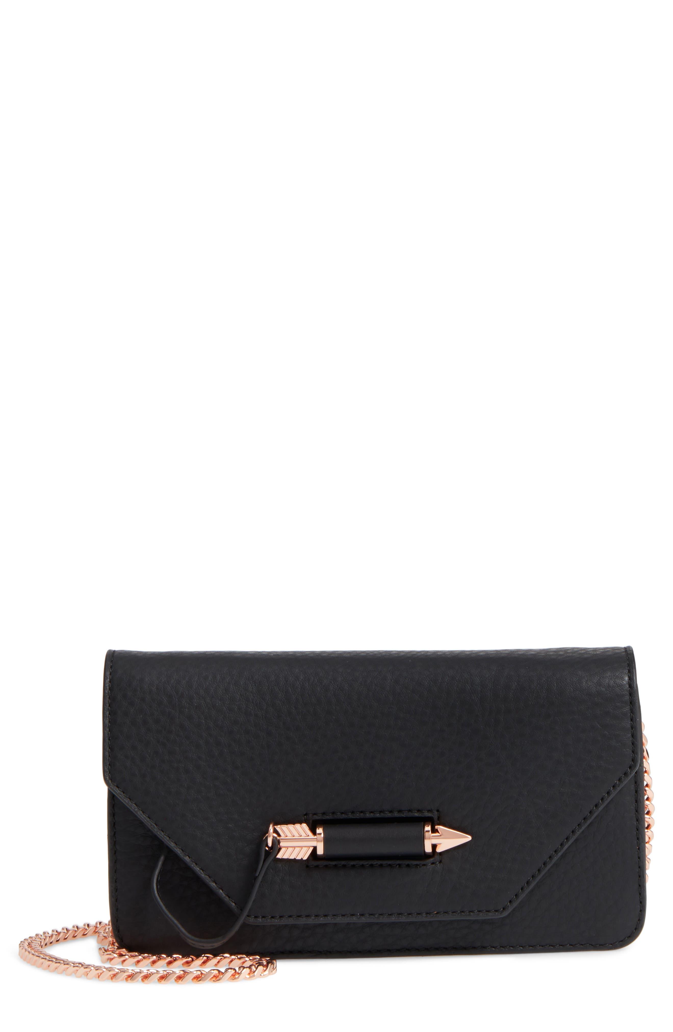MACKAGE Mini Zoey Leather Crossbody Bag