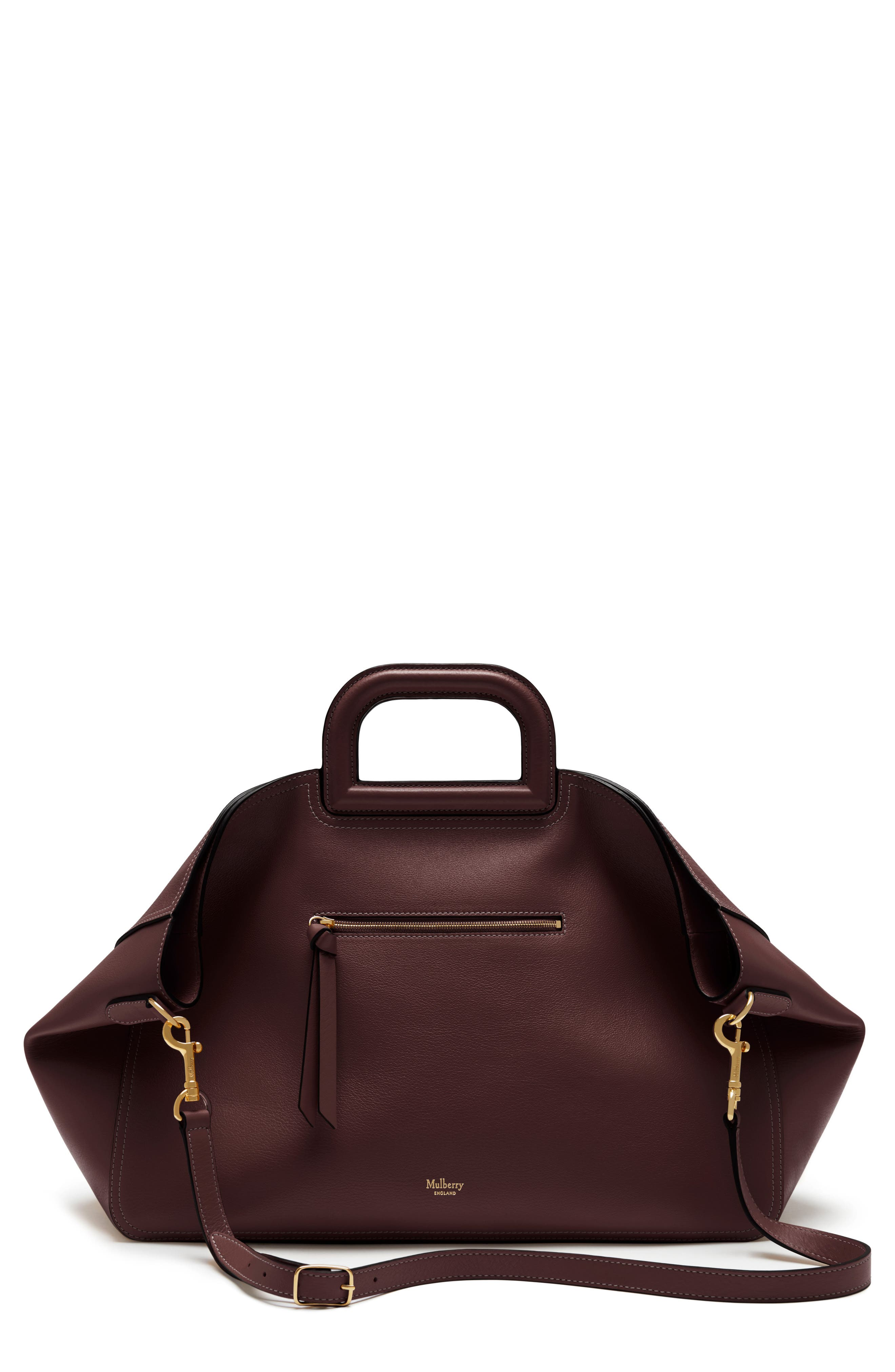 Mulberry Brimley Leather Satchel