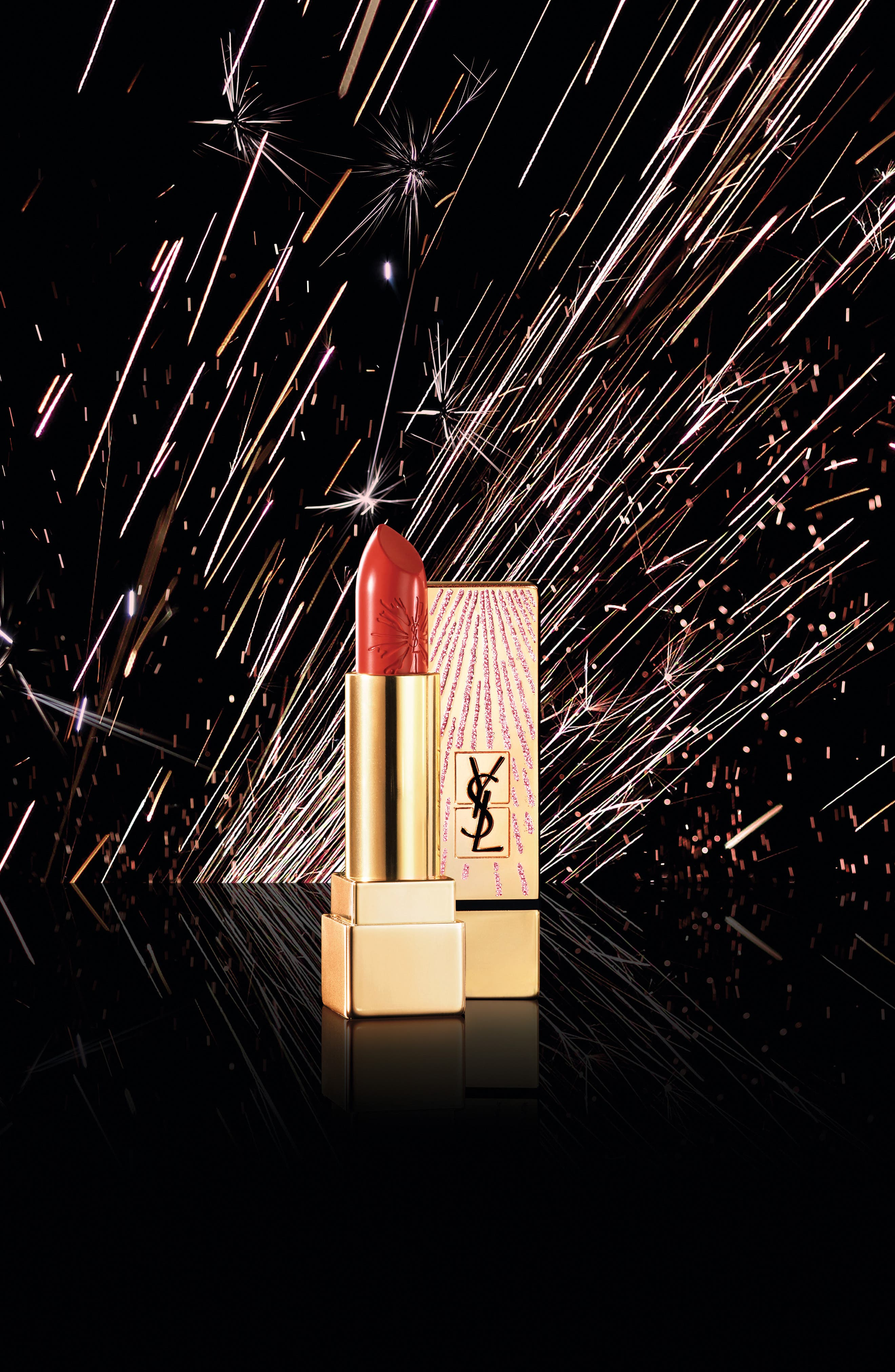 Alternate Image 2  - Yves Saint Laurent Rouge Pur Couture Dazzling Lights Lipstick