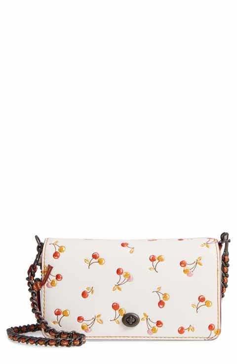 COACH 1941 Cherries Dinky Leather Crossbody Bag ... 4d87ee097e973
