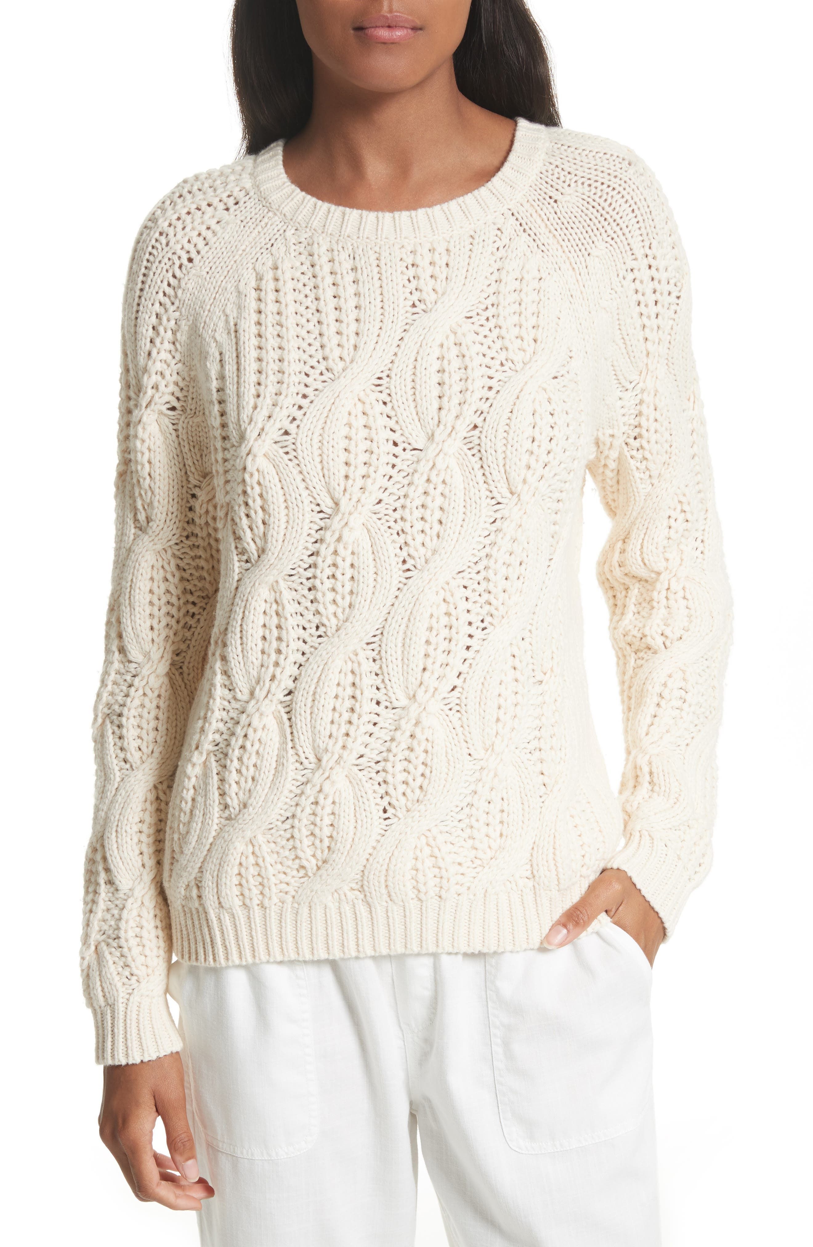 Soft Joie Candessa Cable Knit Sweater