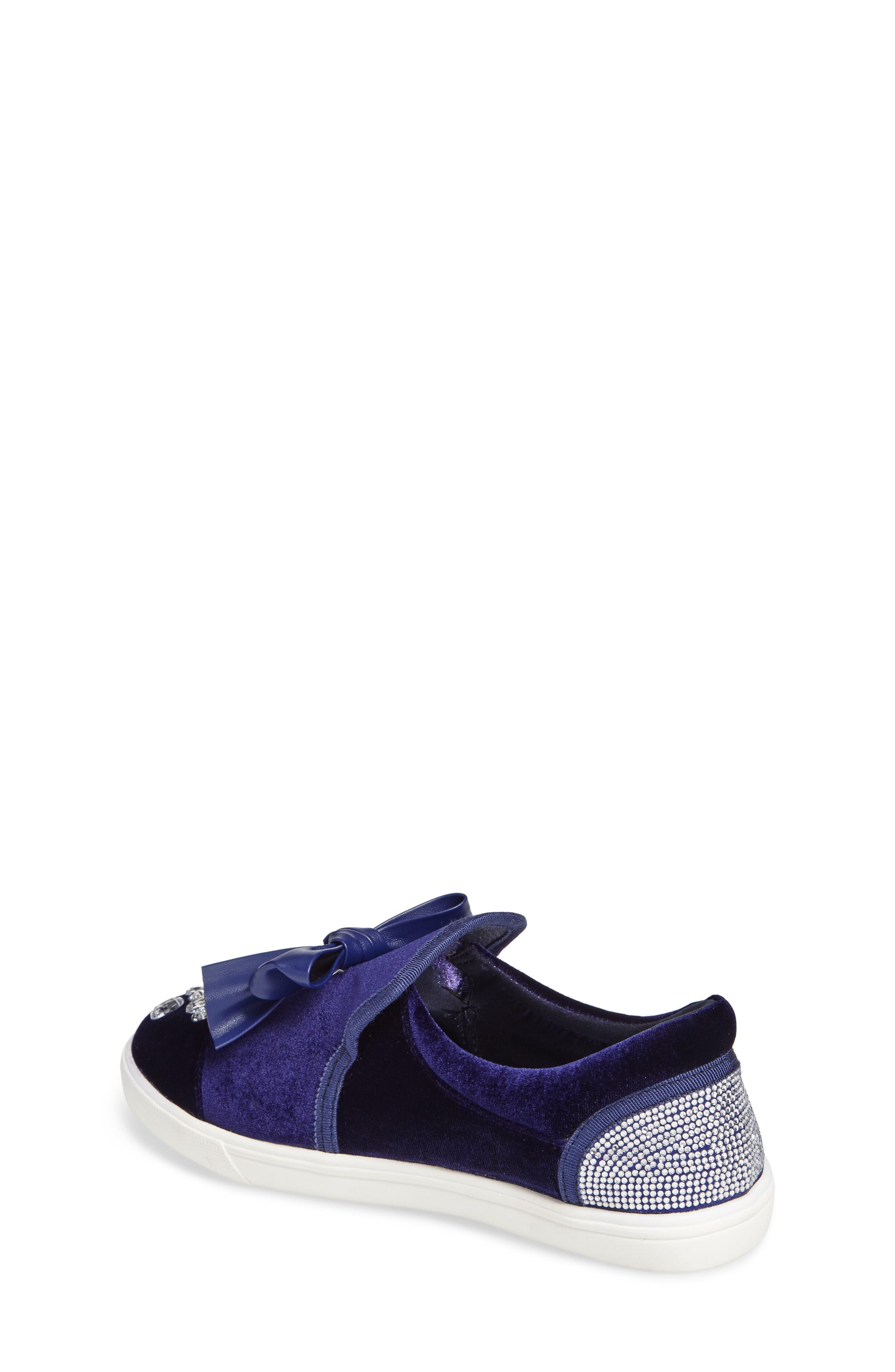 Alternate Image 2  - Badgley Mischka Delight Embellished Slip-On Sneaker (Toddler, Little Kid & Big Kid)