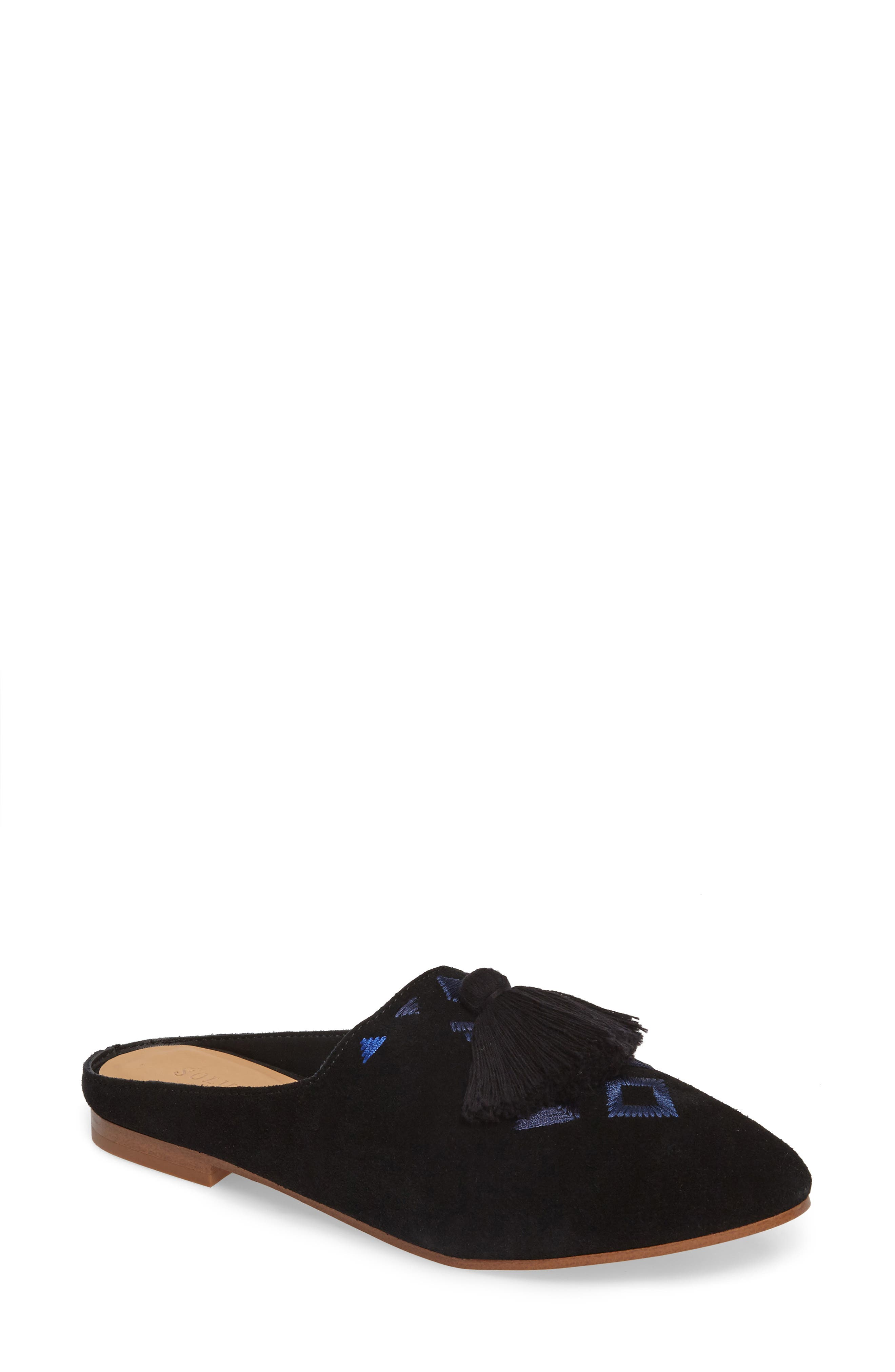 Alternate Image 1 Selected - Soludos Palazzo Loafer Mule (Women)