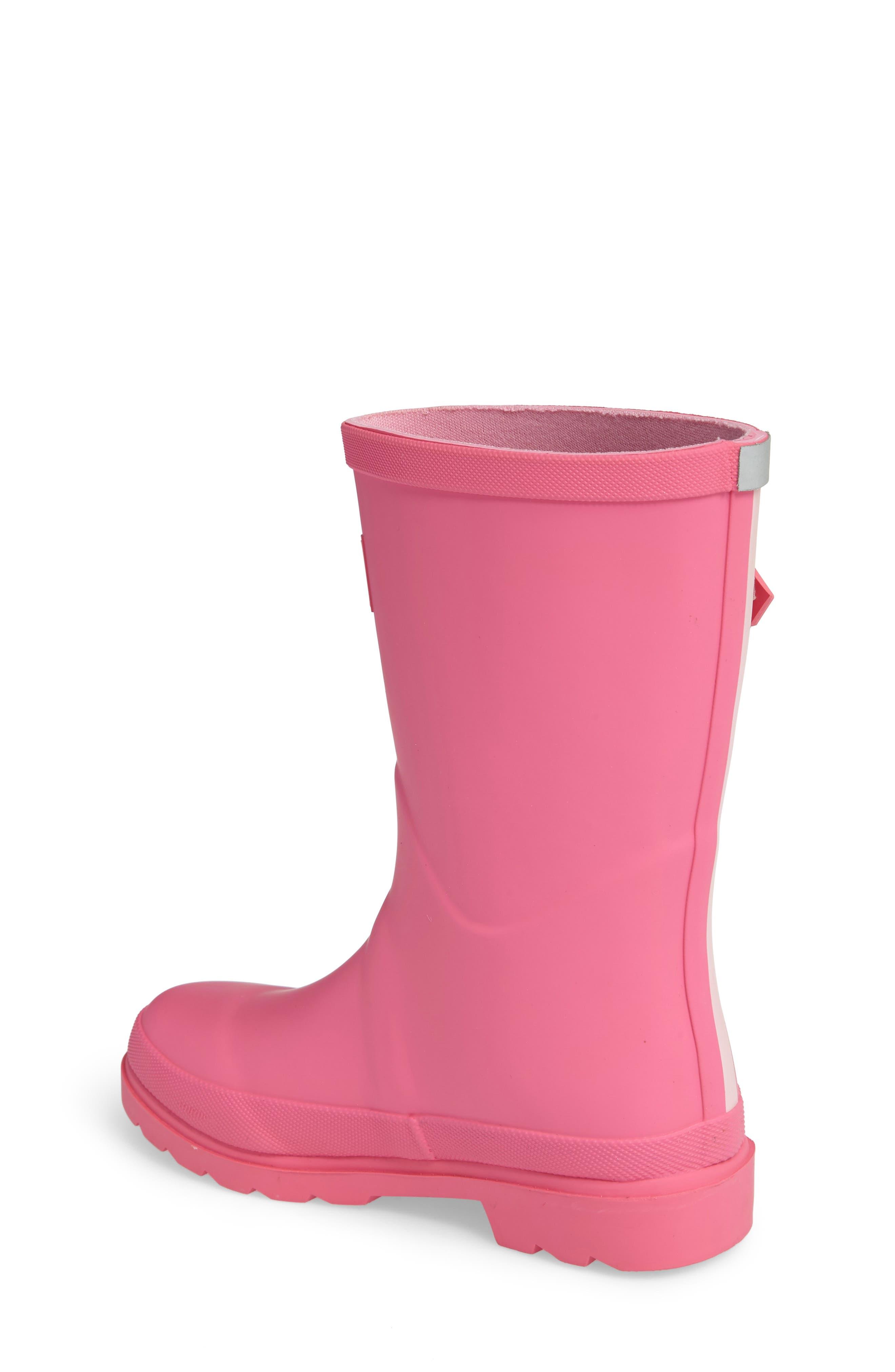 Alternate Image 2  - Joules Welly Matte Waterproof Rain Boot (Toddler, Little Kid & Big Kid)