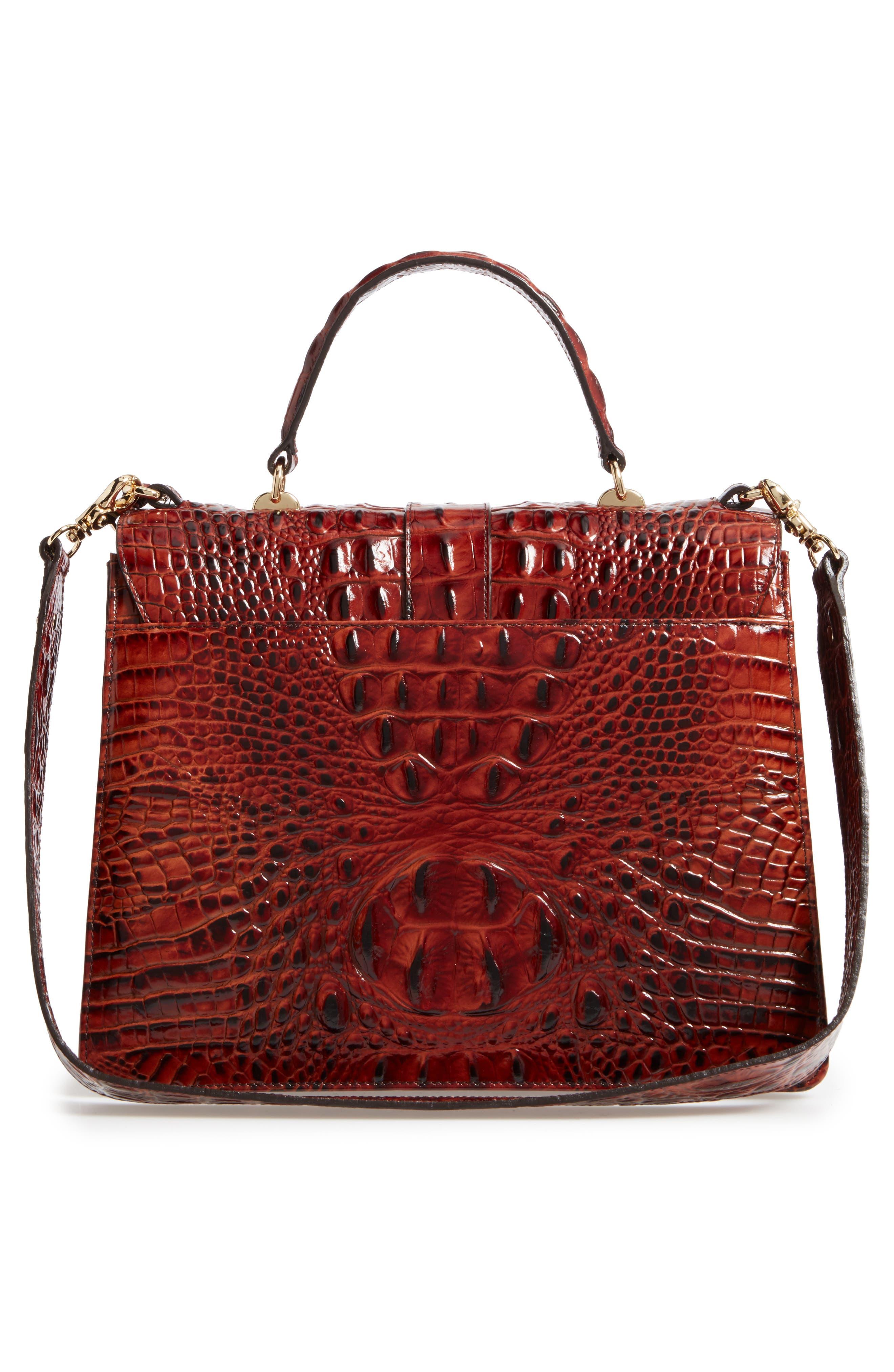 Alternate Image 3  - Brahmin Melbourne Gabriella Embossed Leather Satchel