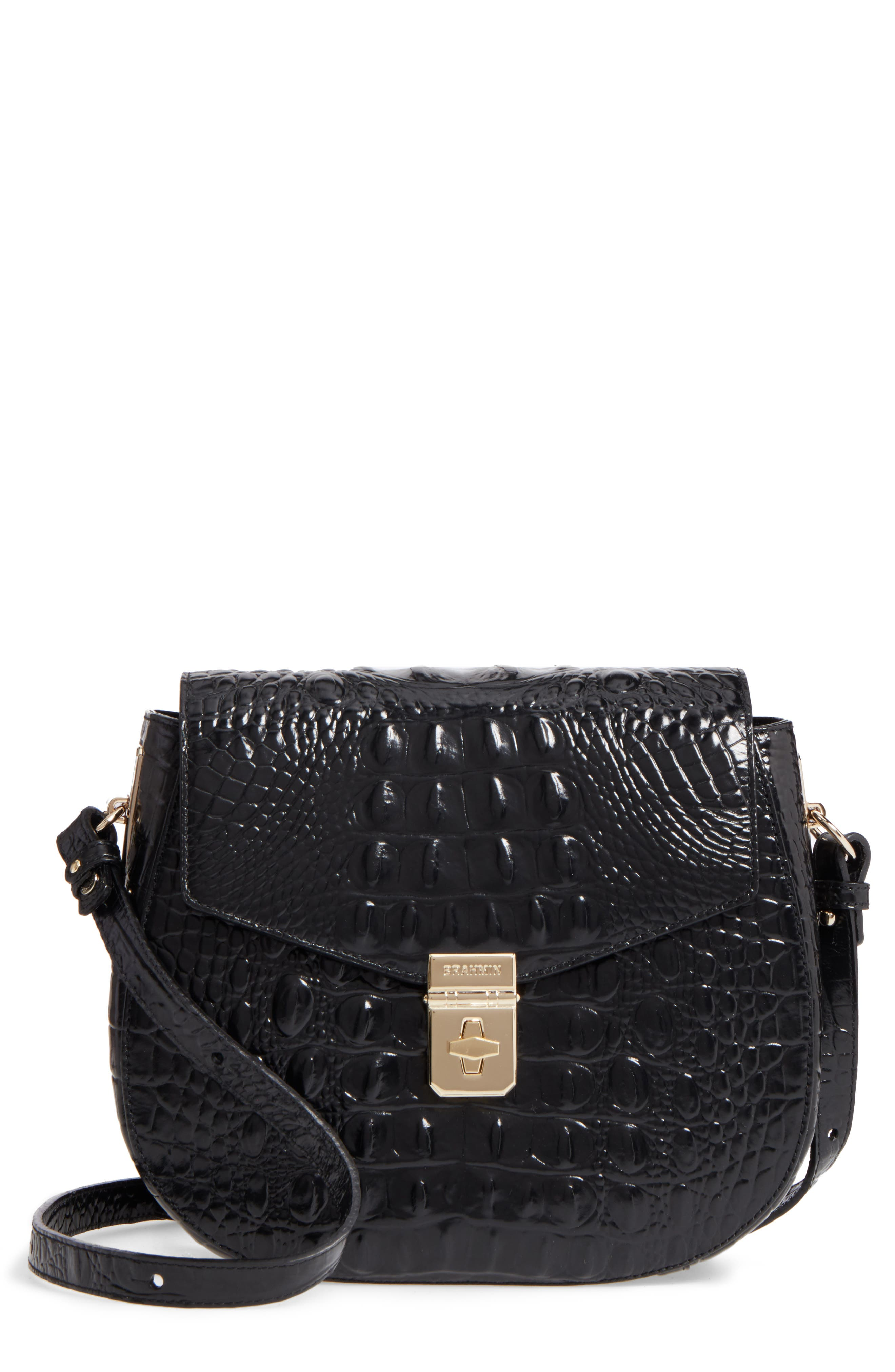 Main Image - Brahmin Melbourne - Lizzie Leather Crossbody Bag