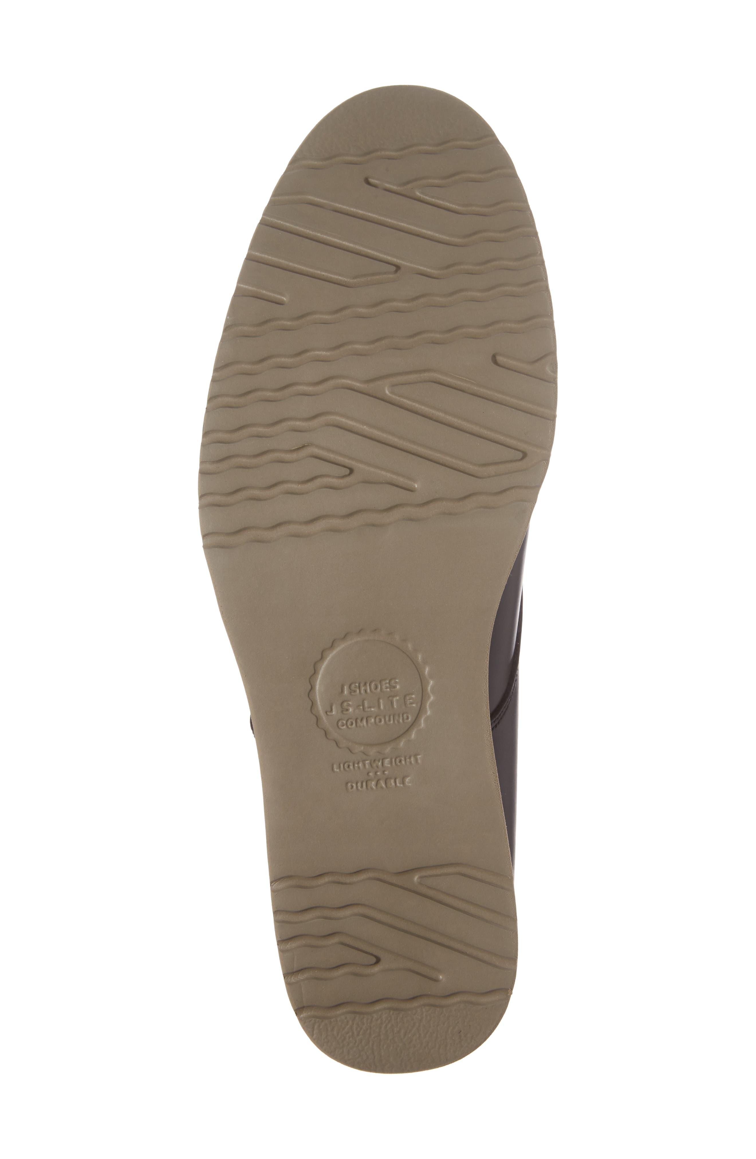 'Farley' Chukka Boot,                             Alternate thumbnail 6, color,                             Black/ Black Leather