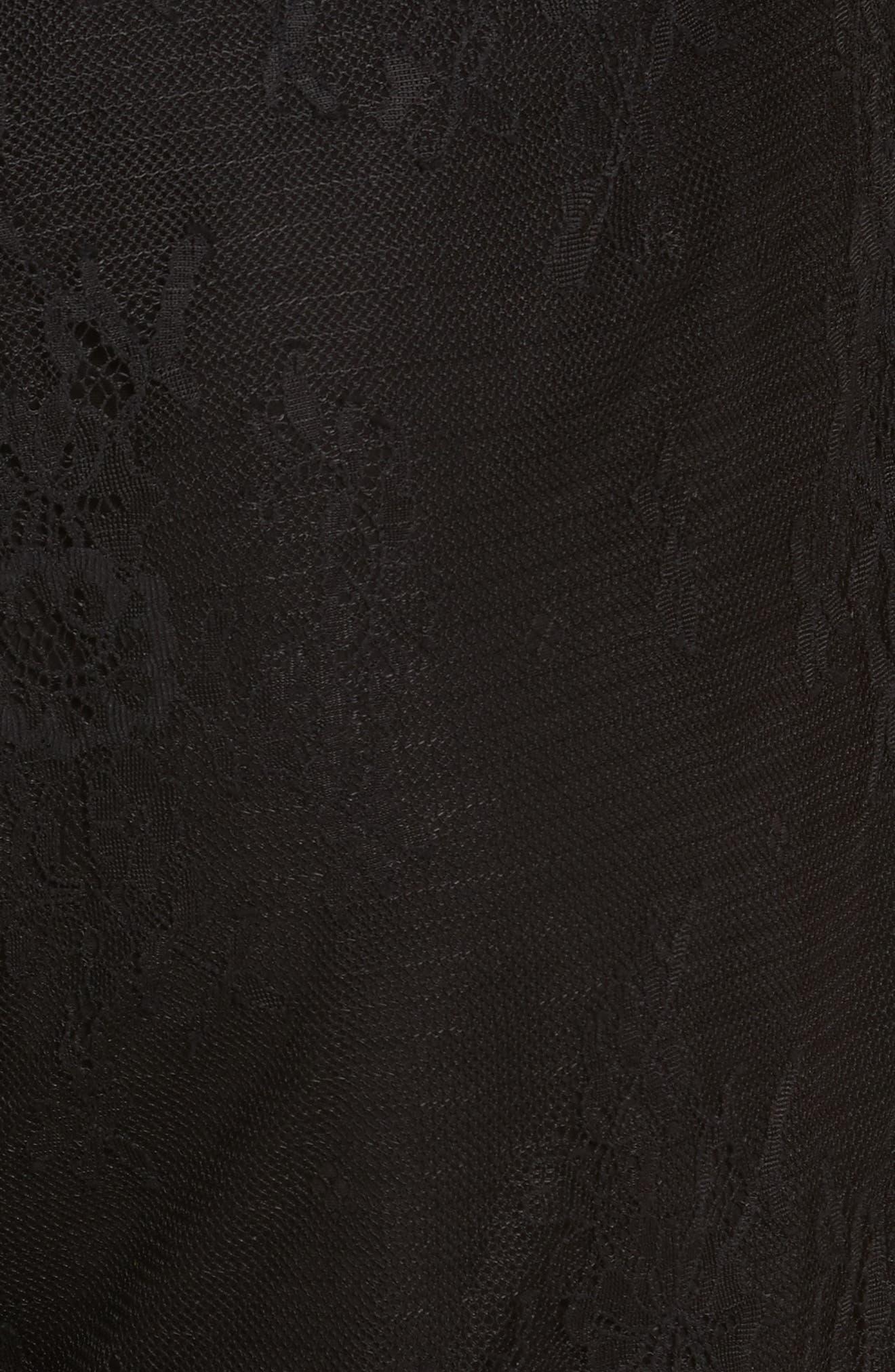 Alternate Image 5  - Diane von Furstenberg Halter Neck Lace Jumpsuit