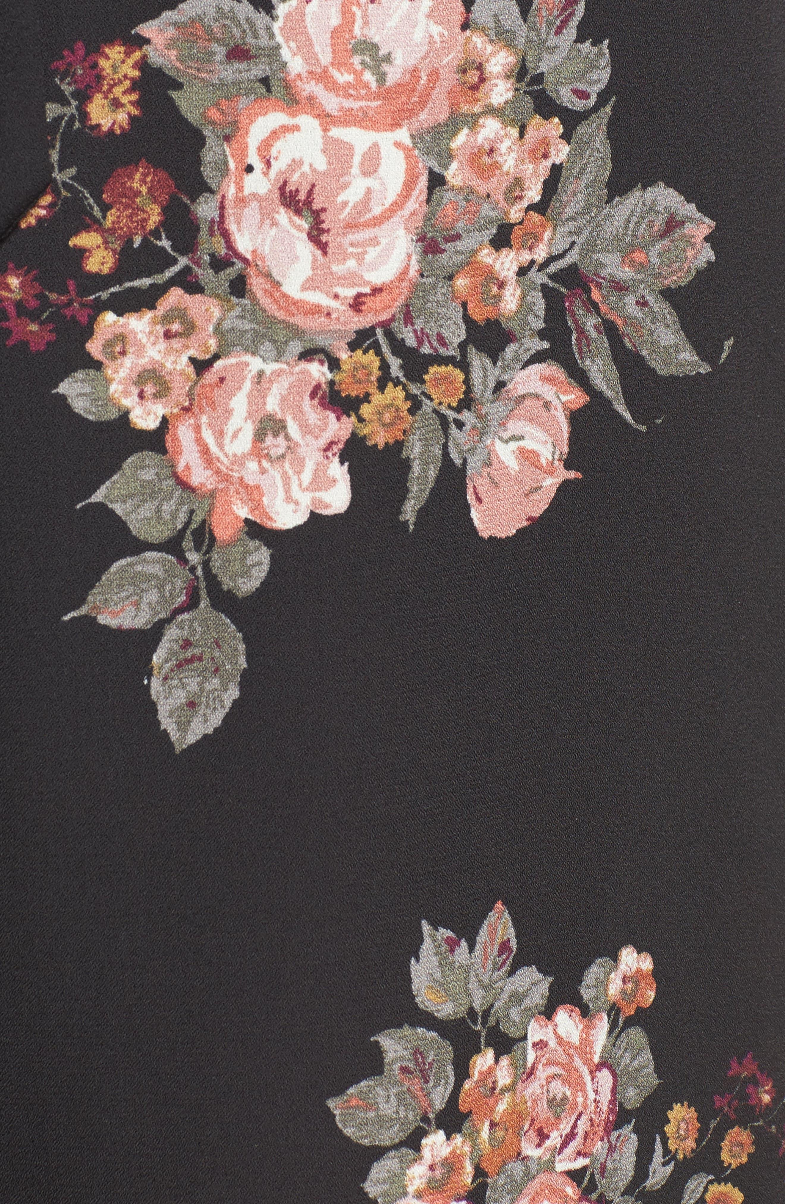 Alternate Image 5  - June & Hudson Short Sleeve Jumpsuit