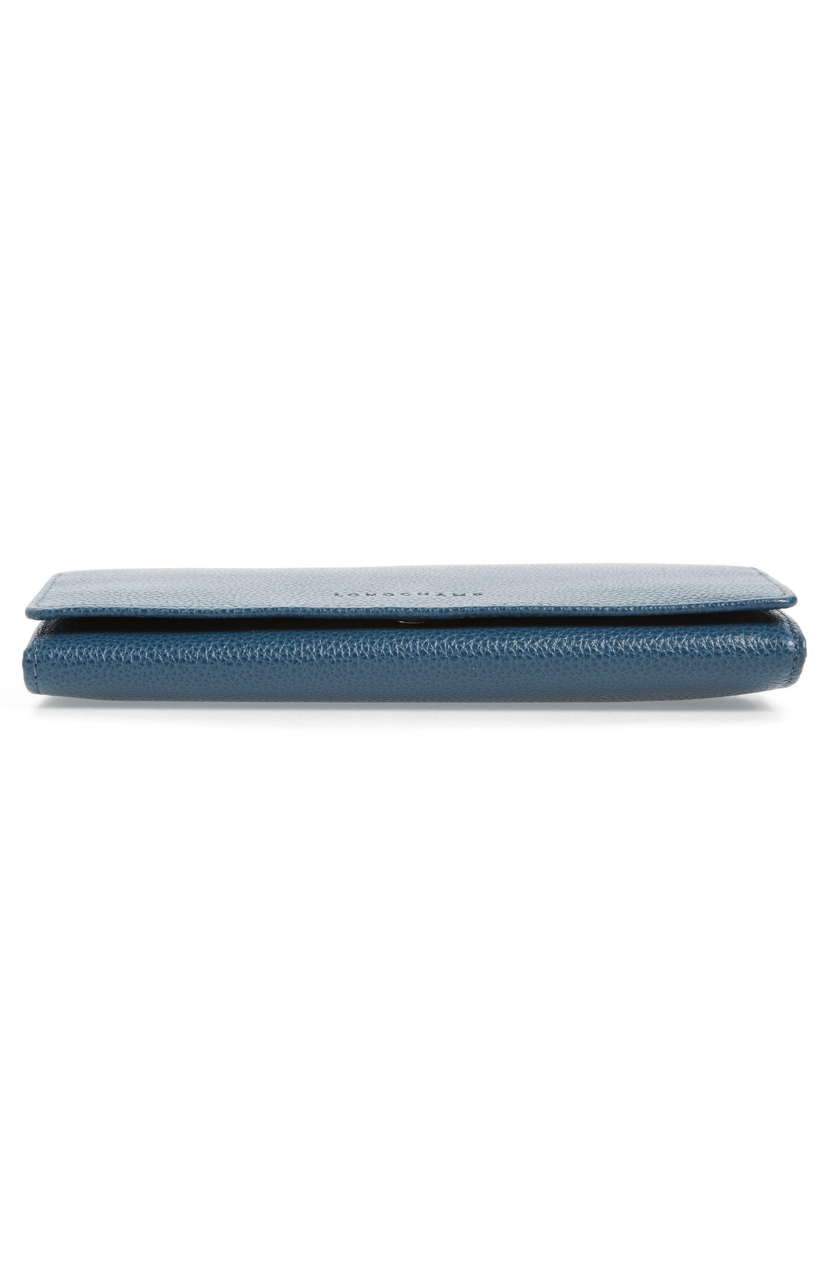 Alternate Image 6  - Longchamp 'Veau Foulonne' Continental Wallet