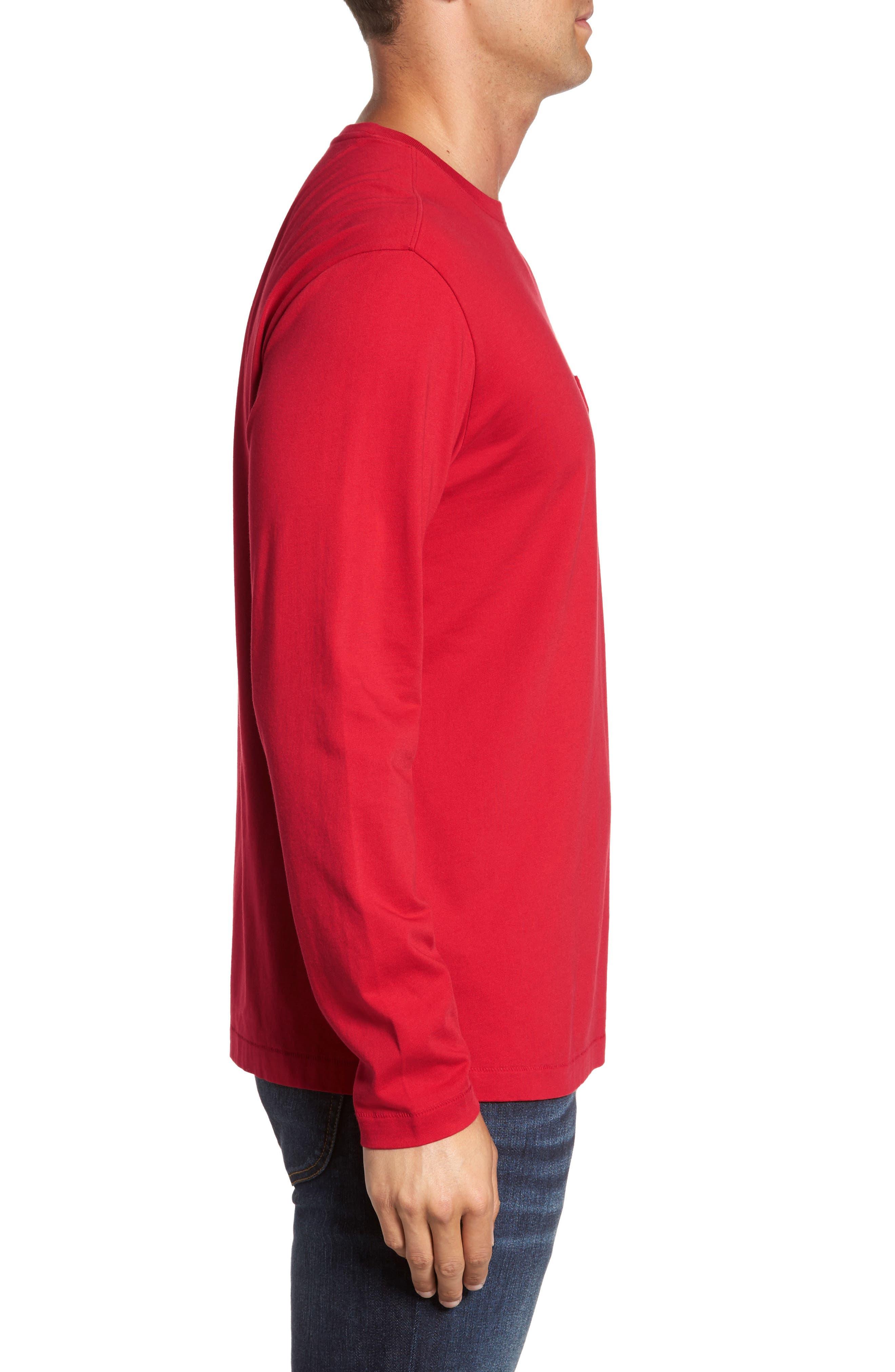 Alternate Image 3  - Tommy Bahama Bali Skyline Long Sleeve Pima Cotton T-Shirt