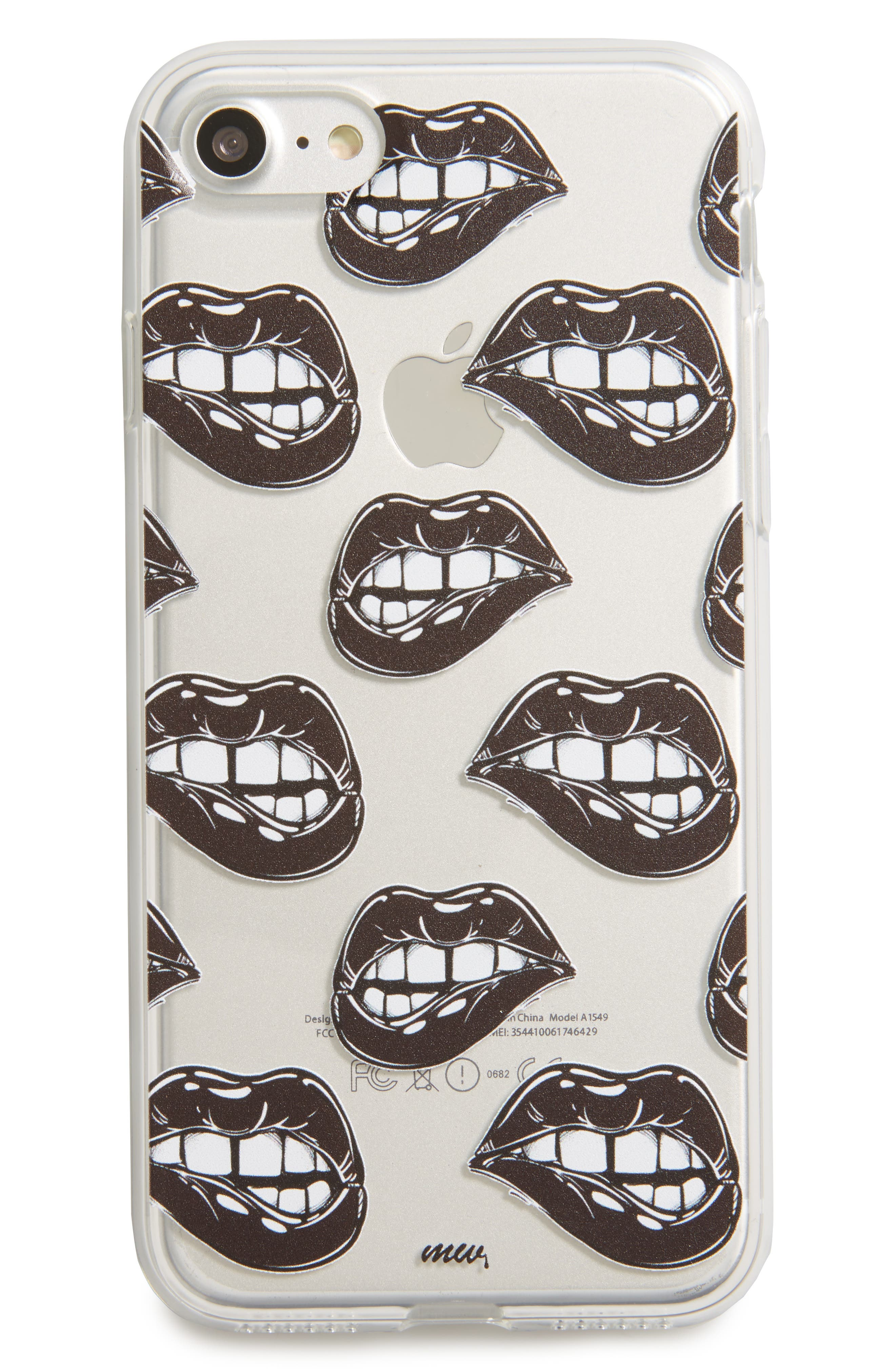 MILKYWAY Lips with Teeth iPhone 7 Case