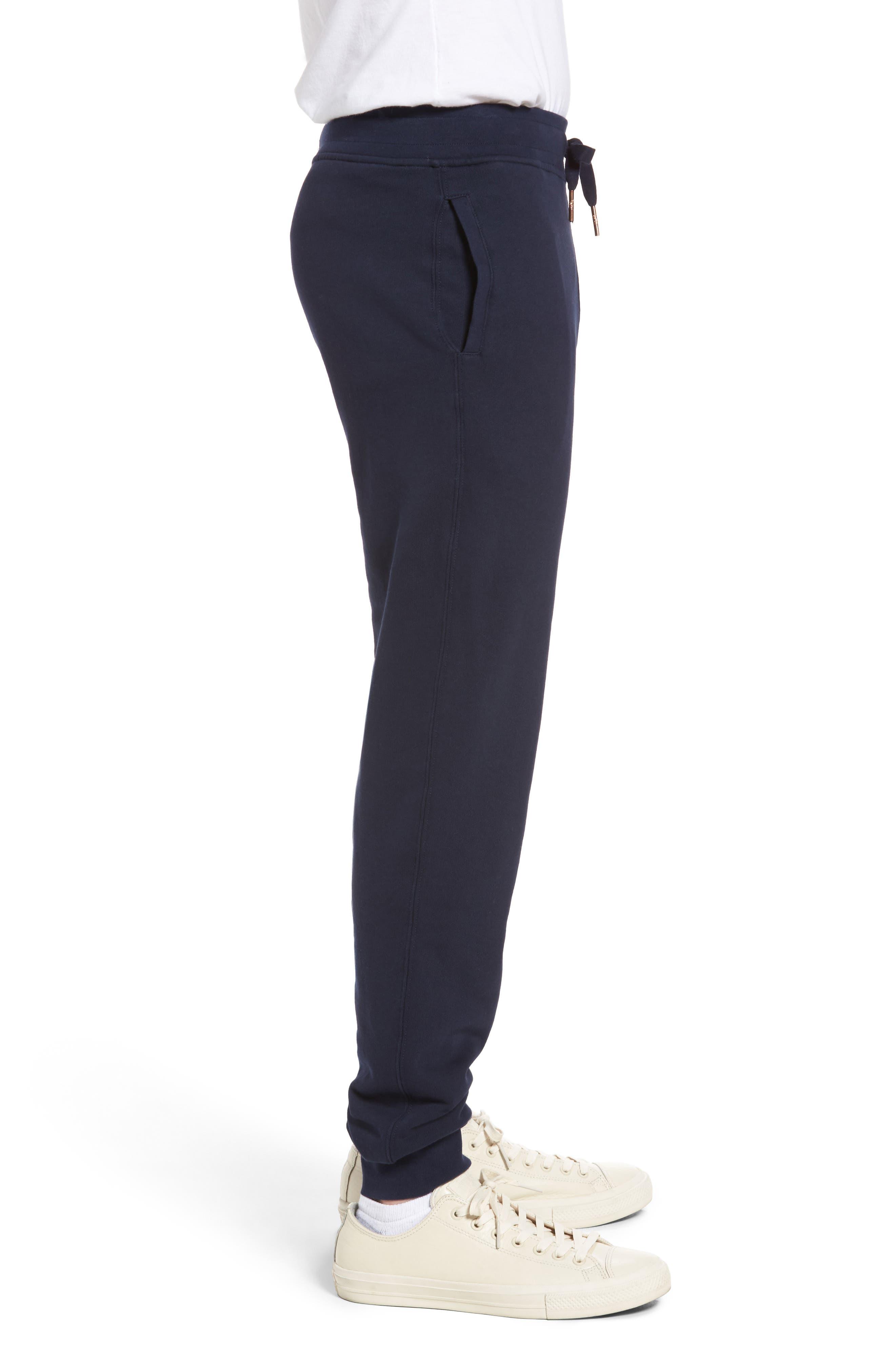 Horseshoe Sweatpants,                             Alternate thumbnail 3, color,                             Navy