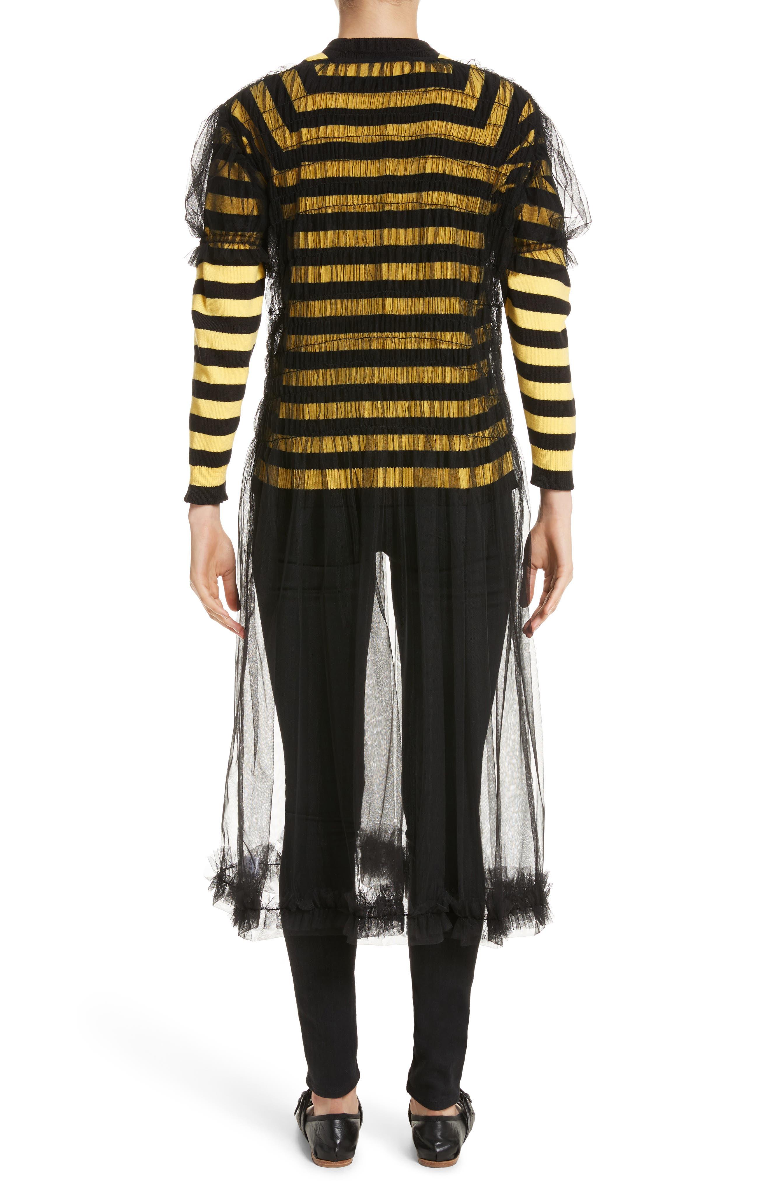 Alternate Image 2  - Molly Goddard Emily Tulle Dress