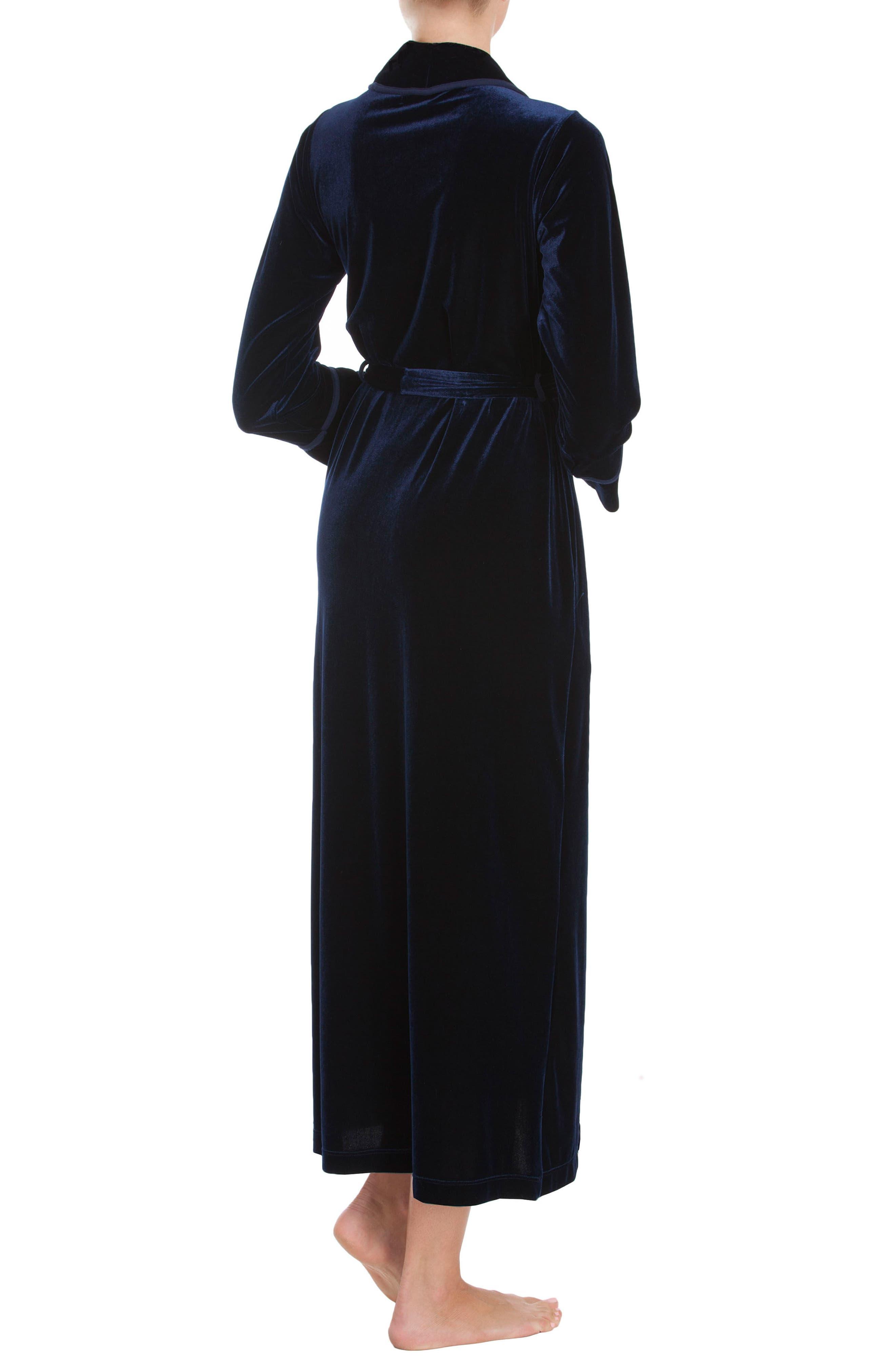 Alternate Image 2  - Jonquil Velvet Robe