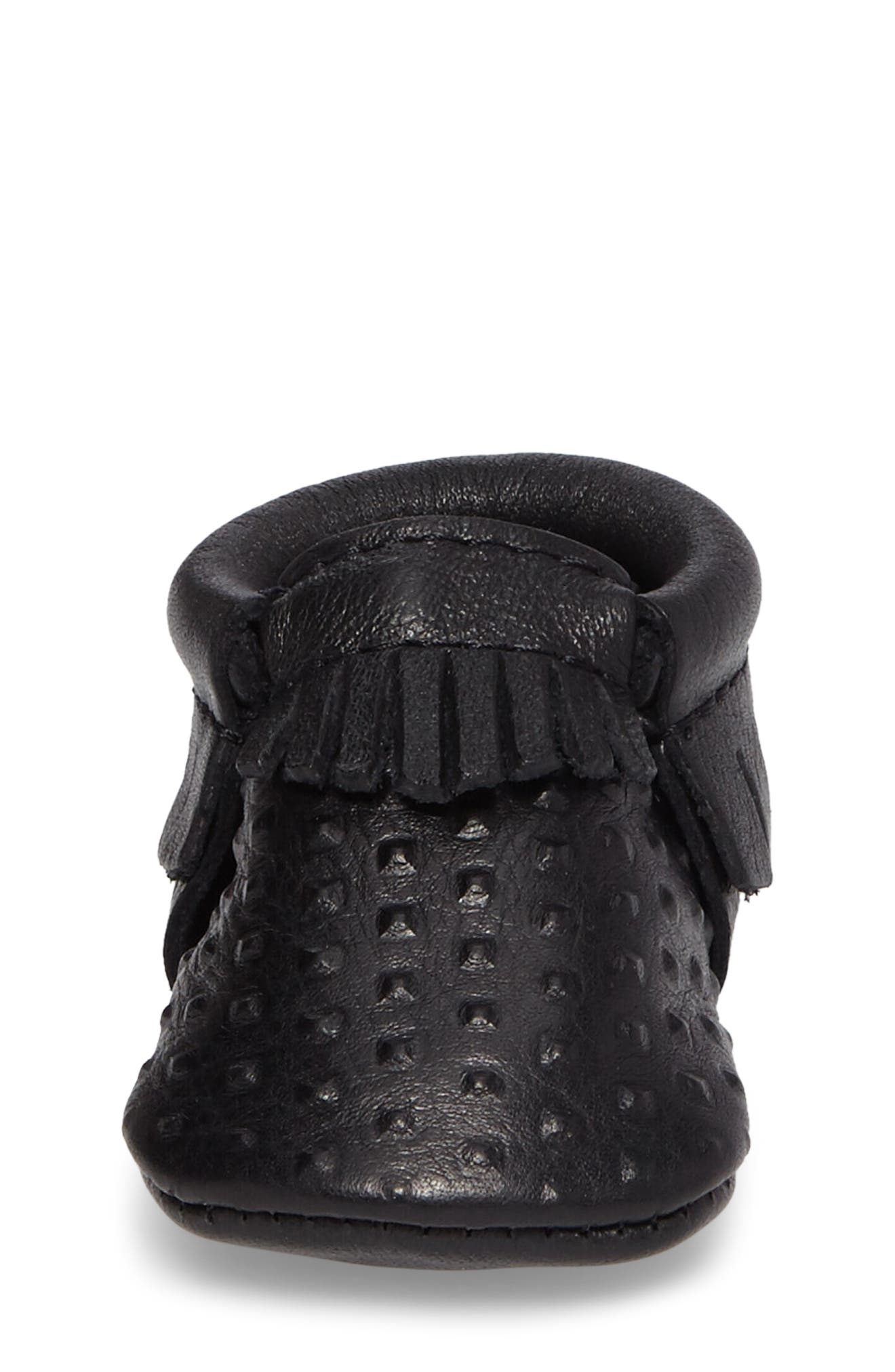 You're a Stud Moccasin,                             Alternate thumbnail 4, color,                             Black Studs