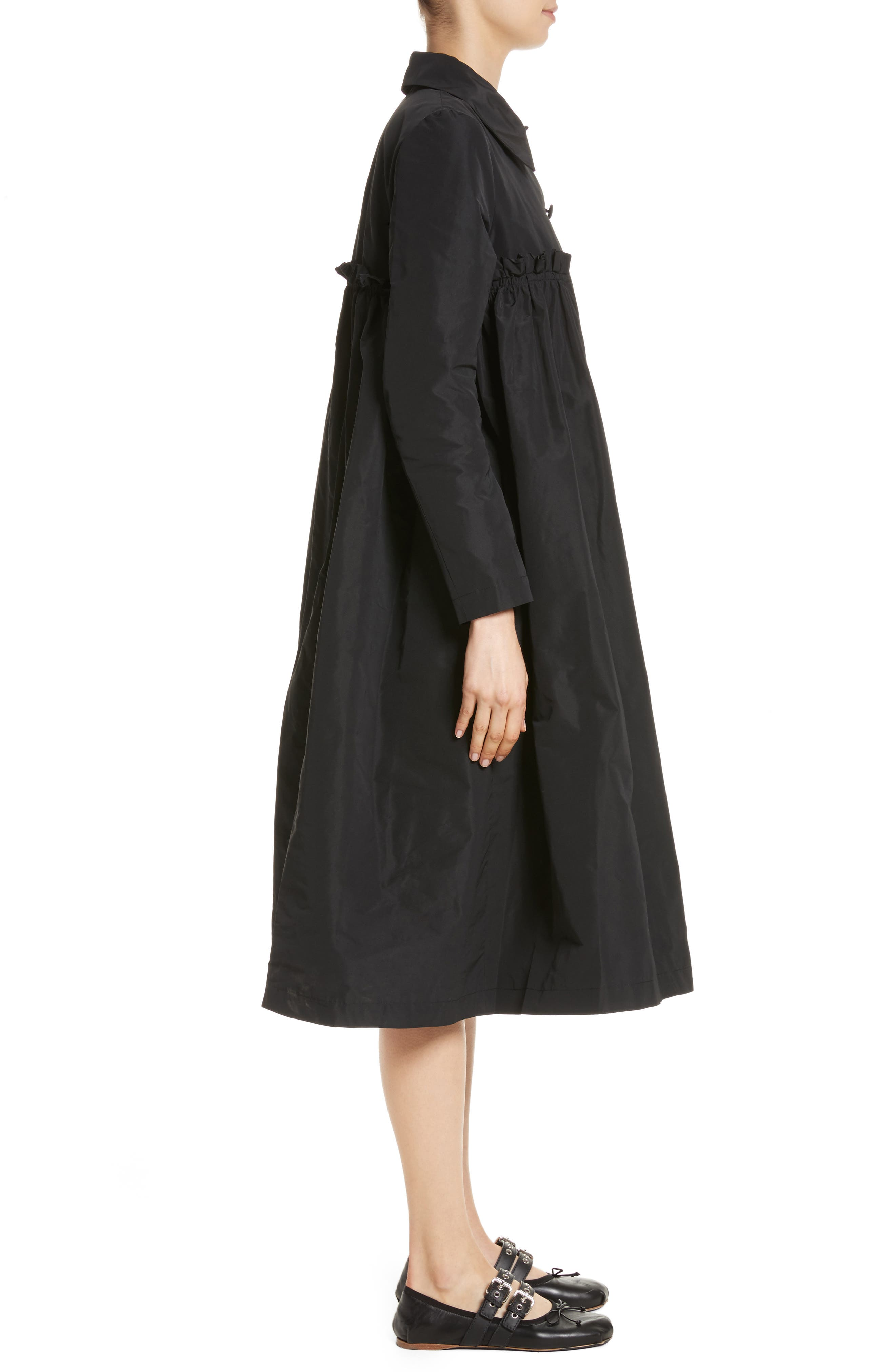 Alternate Image 3  - Molly Goddard Pluto Taffeta Coat
