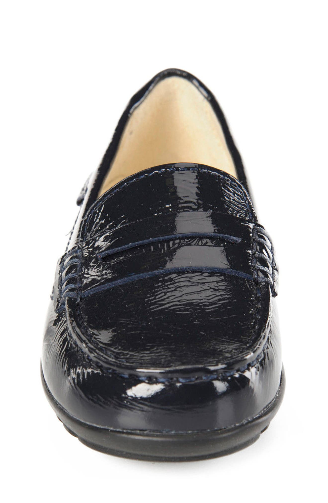 Fast Girl Penny Loafer,                             Alternate thumbnail 4, color,                             Navy