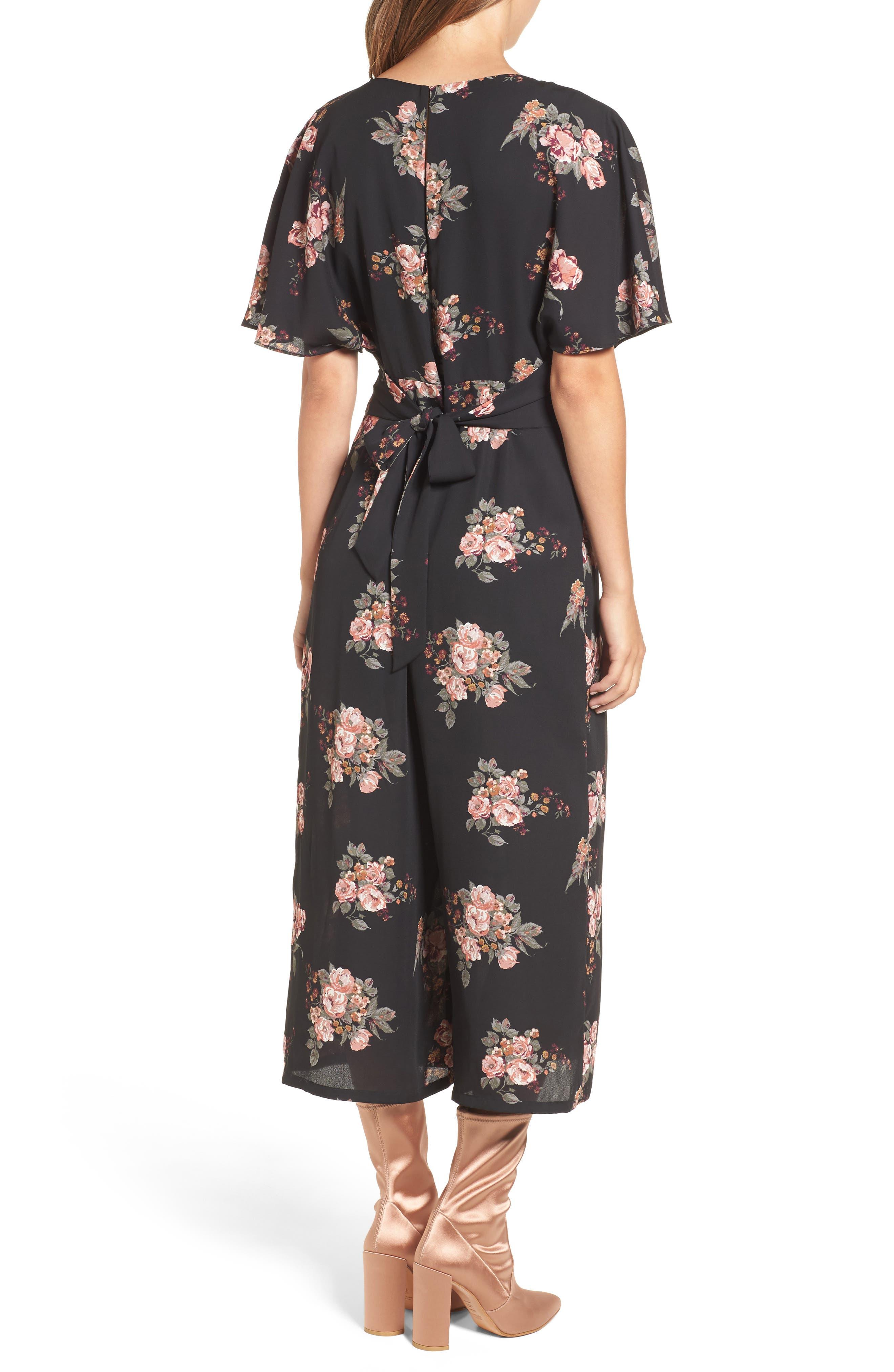 Alternate Image 2  - June & Hudson Short Sleeve Jumpsuit