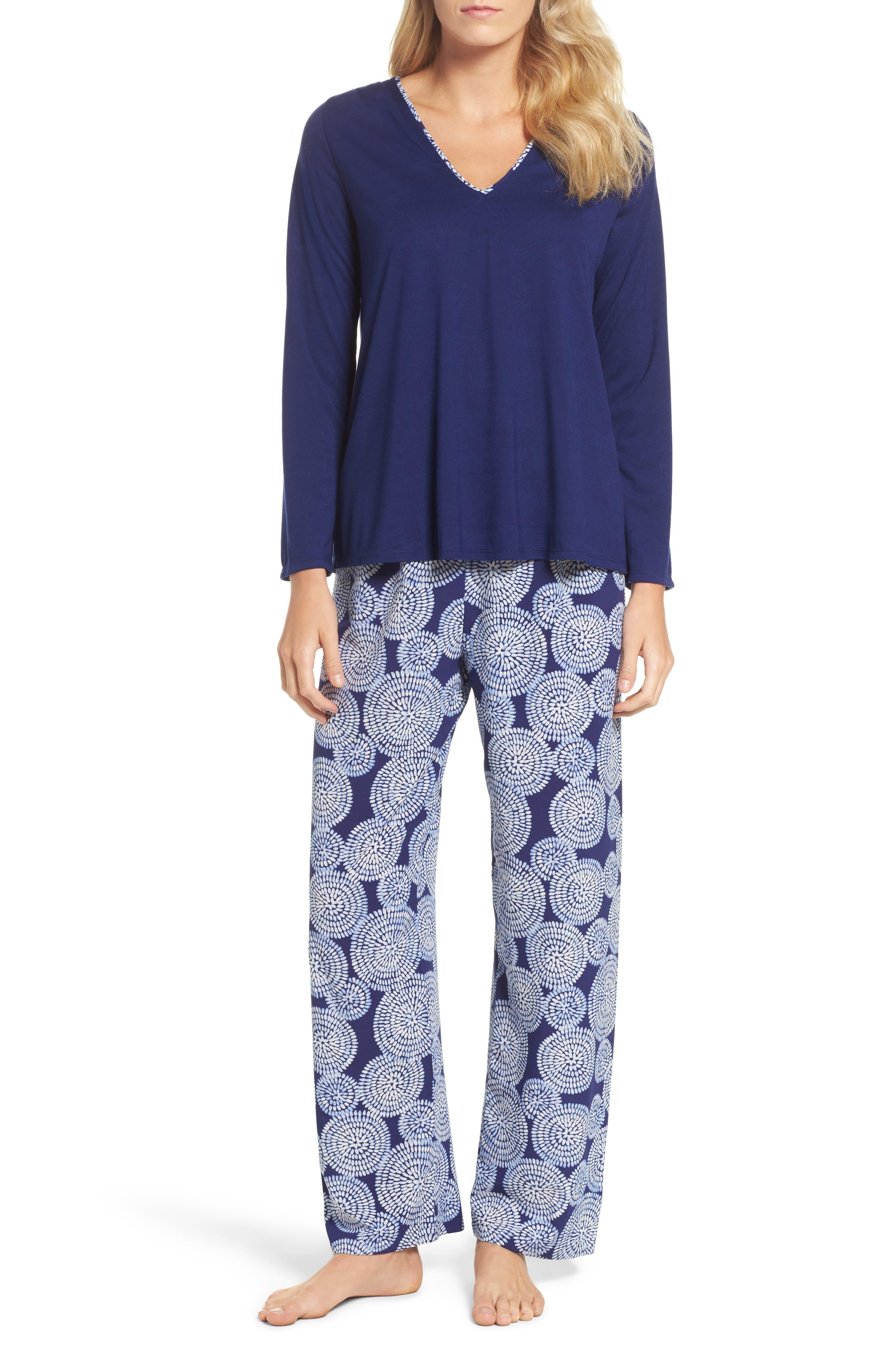 Main Image - Oscar de la Renta Sleepwear Pajamas