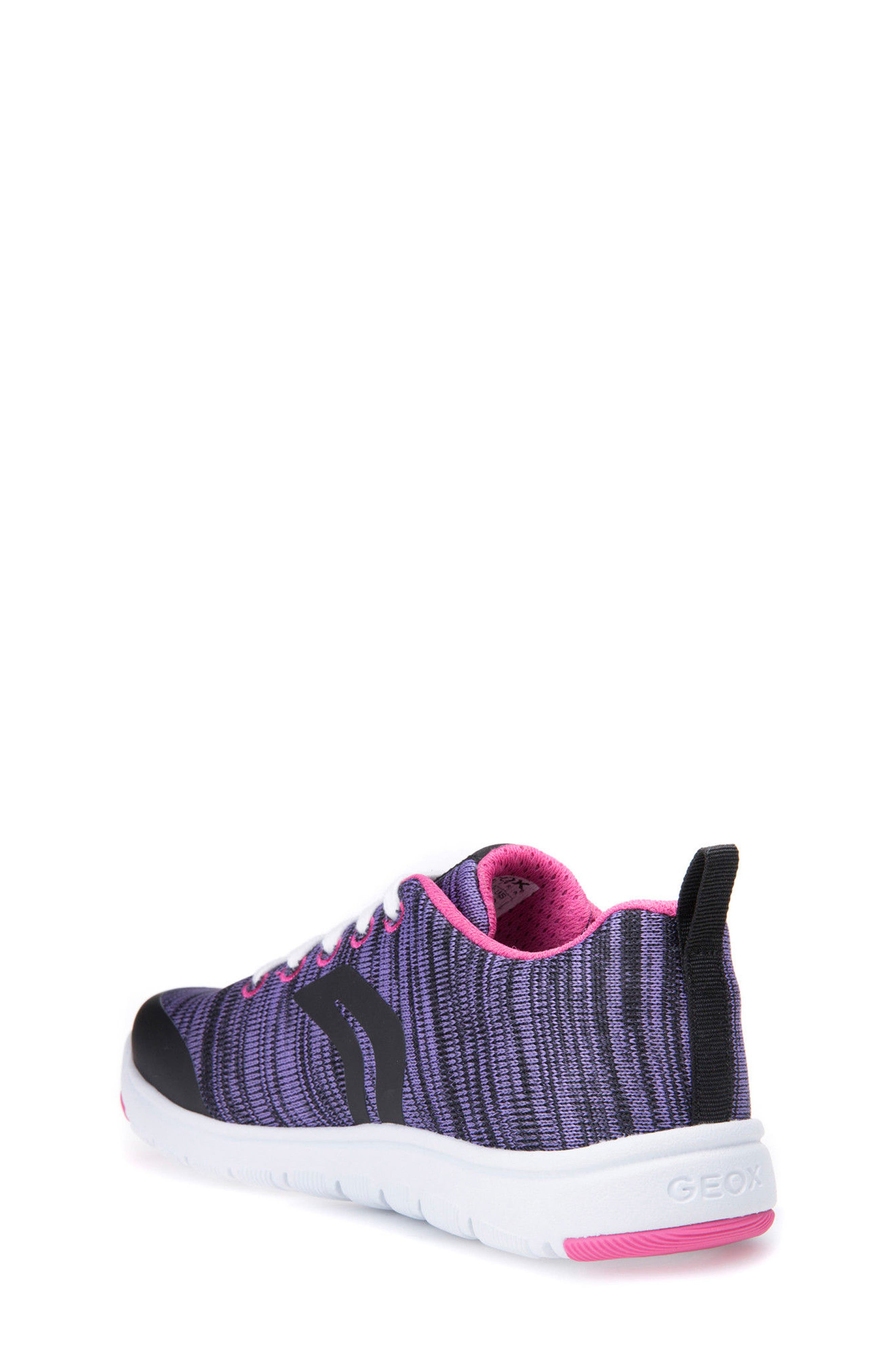 Xunday Performance Knit Low Top Sneaker,                             Alternate thumbnail 2, color,                             Lilac