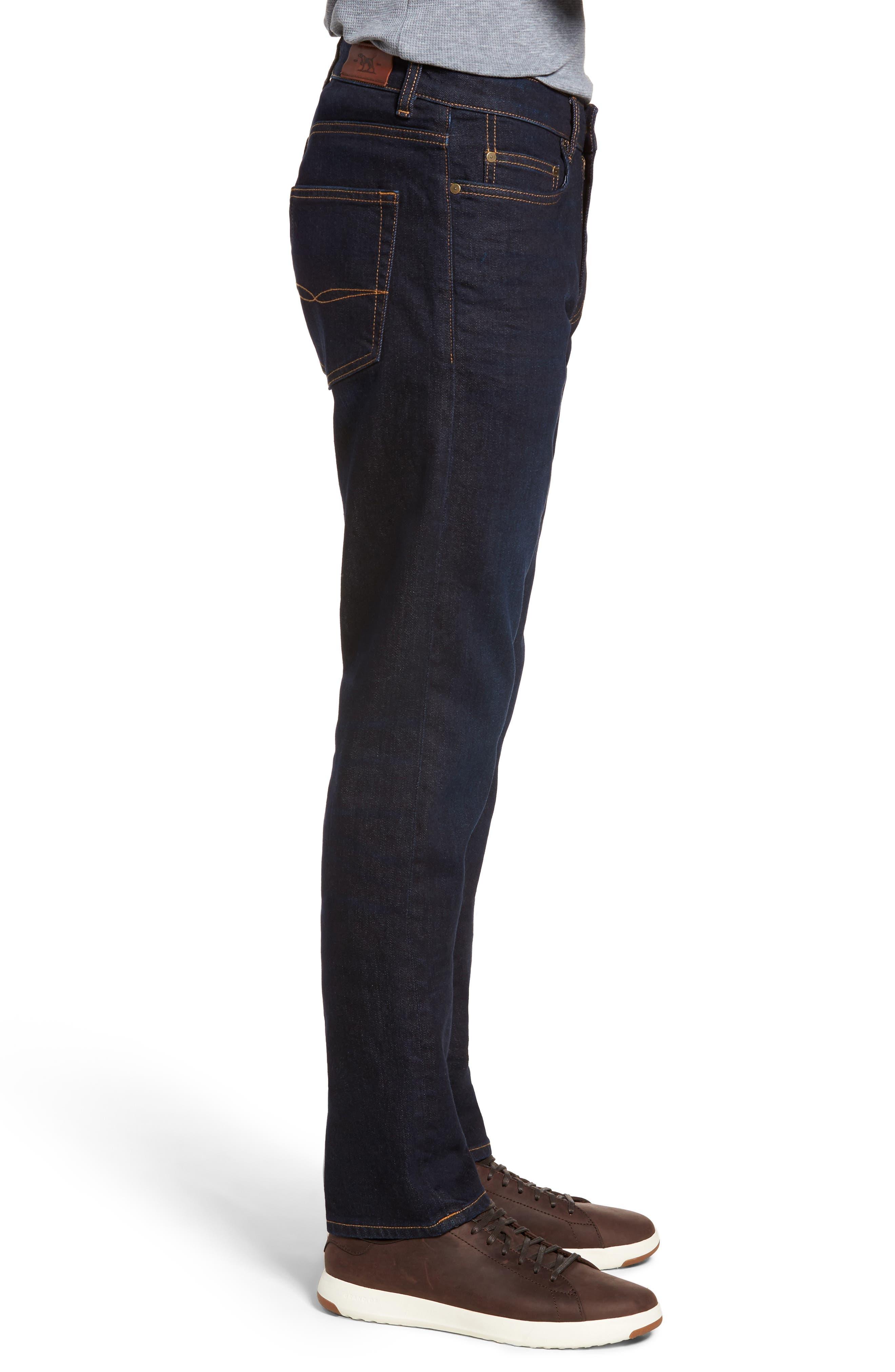 Fanshawe Straight Leg Jeans,                             Alternate thumbnail 3, color,                             Denim