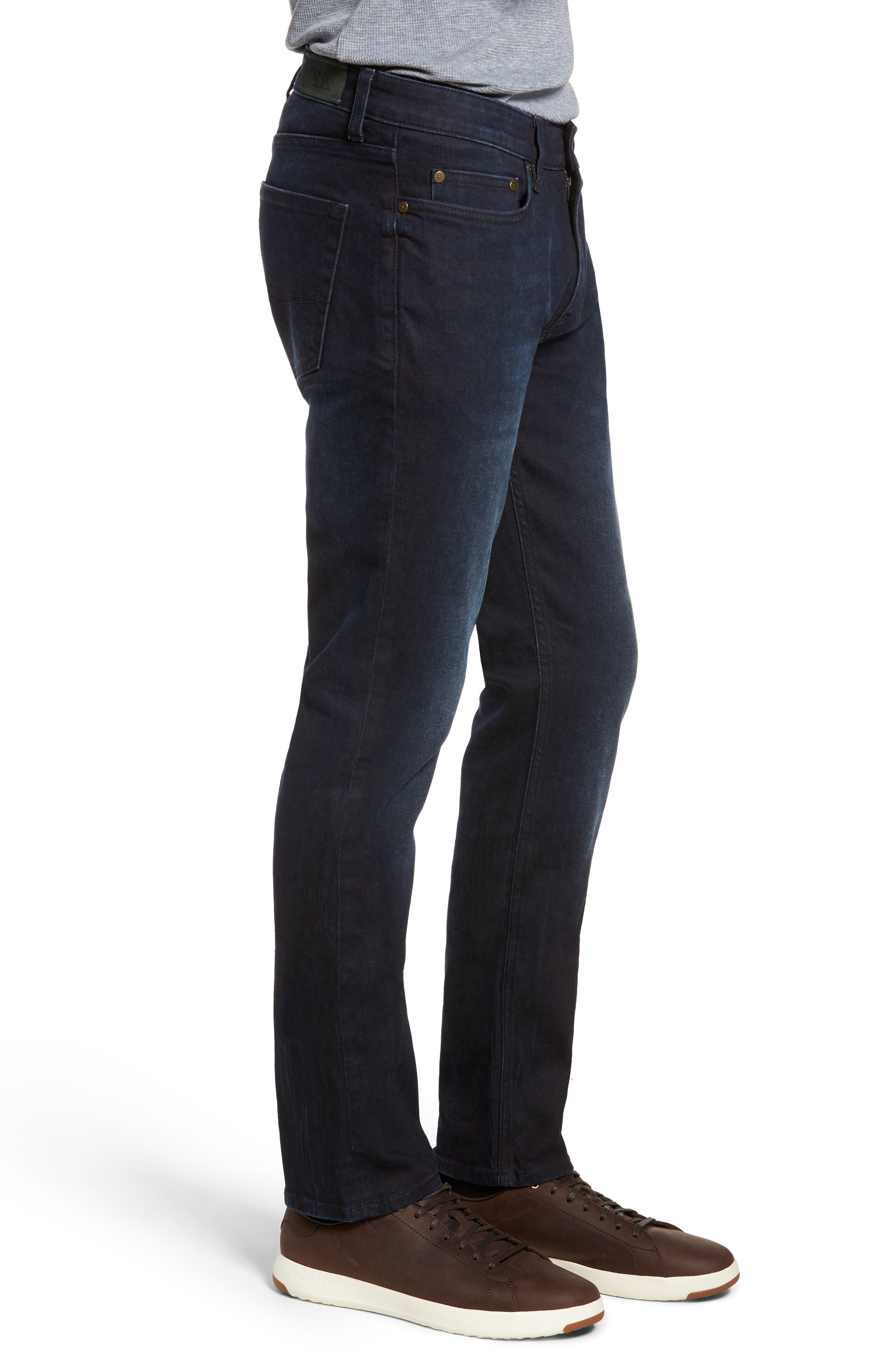 Mapleton Slim Fit Jeans,                             Alternate thumbnail 3, color,                             Denim