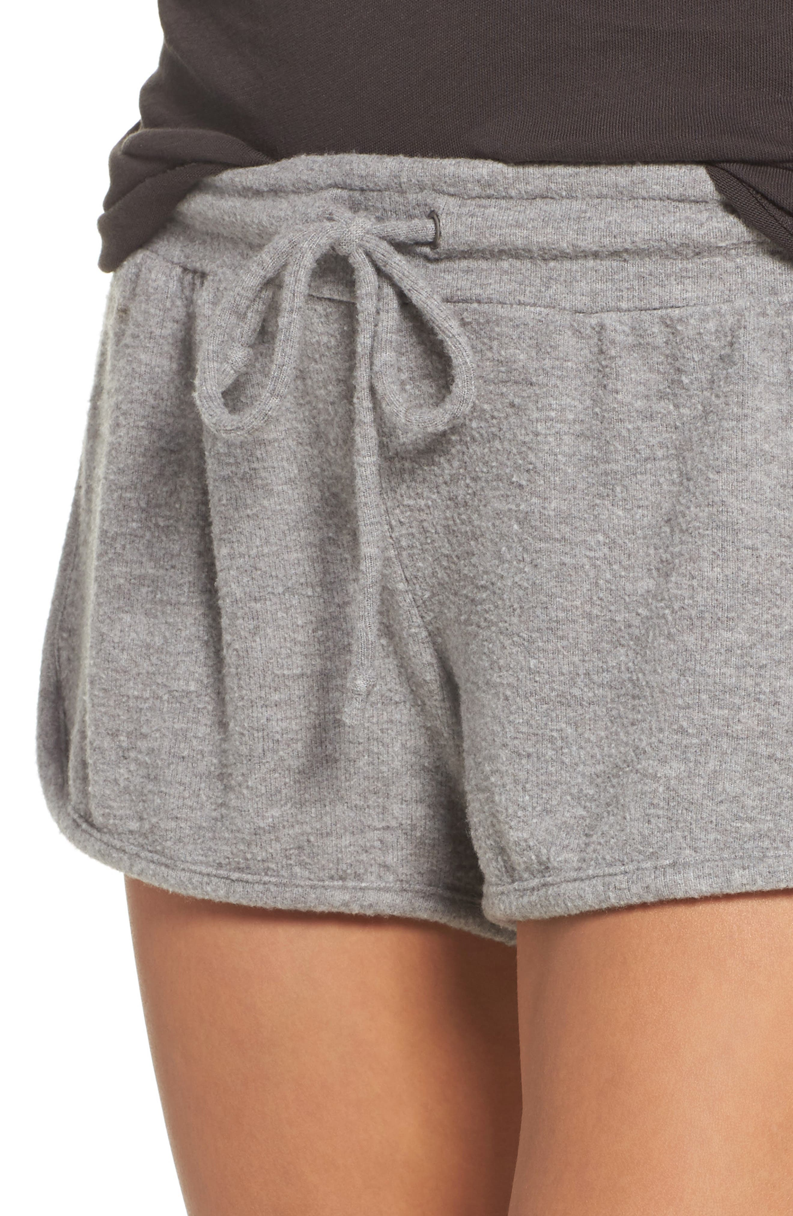 Love Shorts,                             Alternate thumbnail 5, color,                             Heather Grey