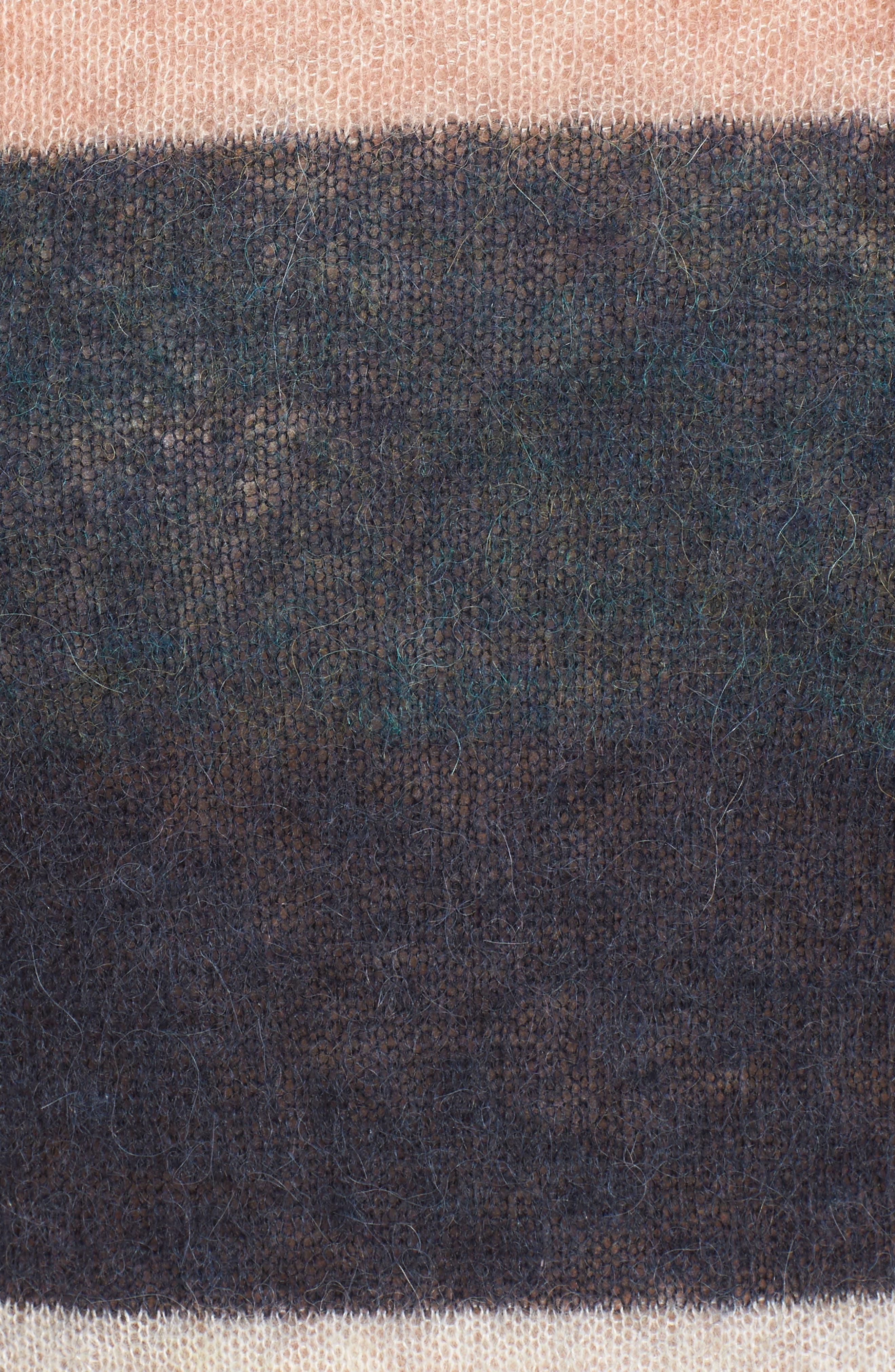 Stripe Alpaca Blend Sweater,                             Alternate thumbnail 5, color,                             Fall Multi Stripe