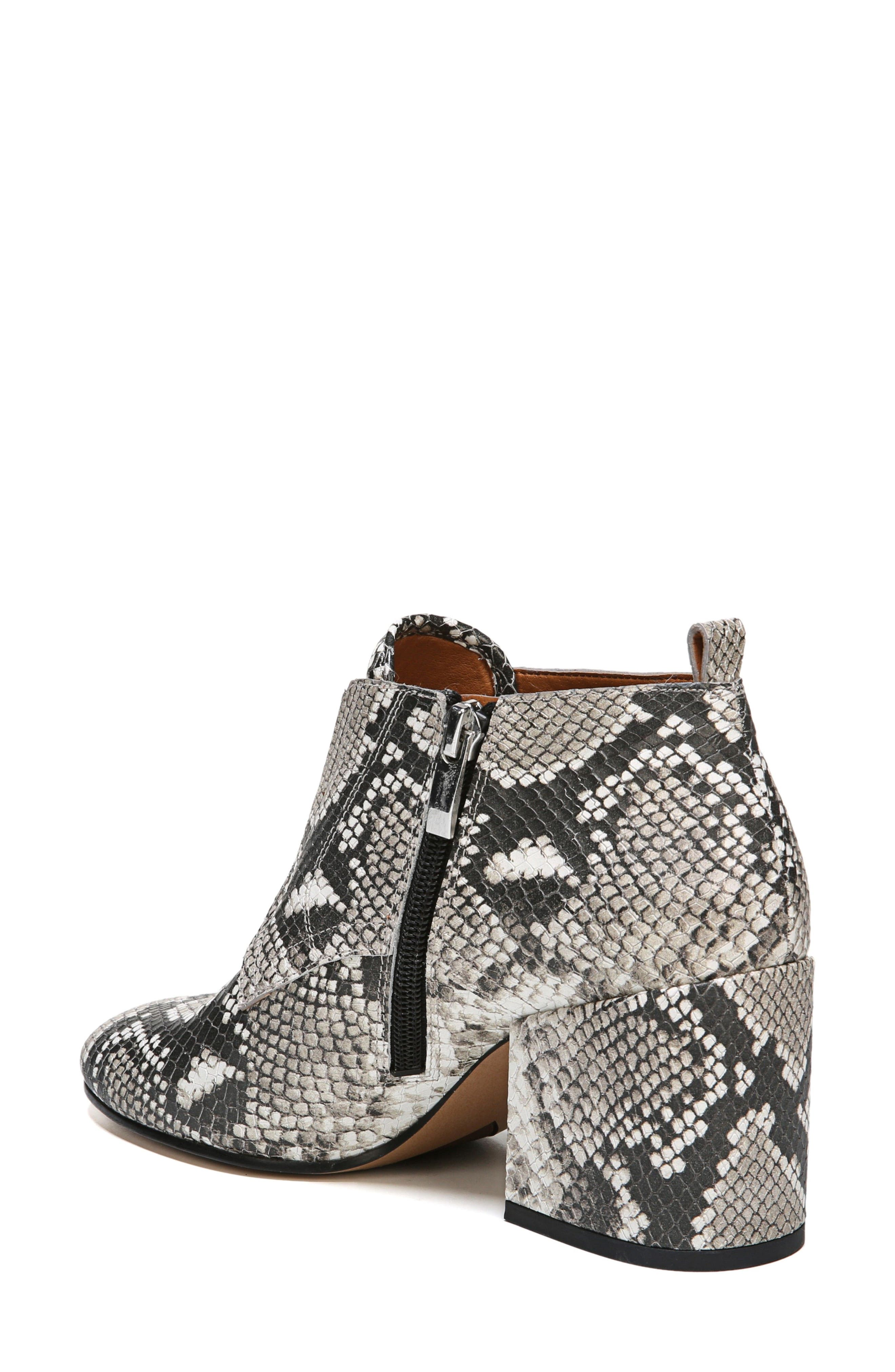 Alfie Bootie,                             Alternate thumbnail 2, color,                             Natural Snake Leather