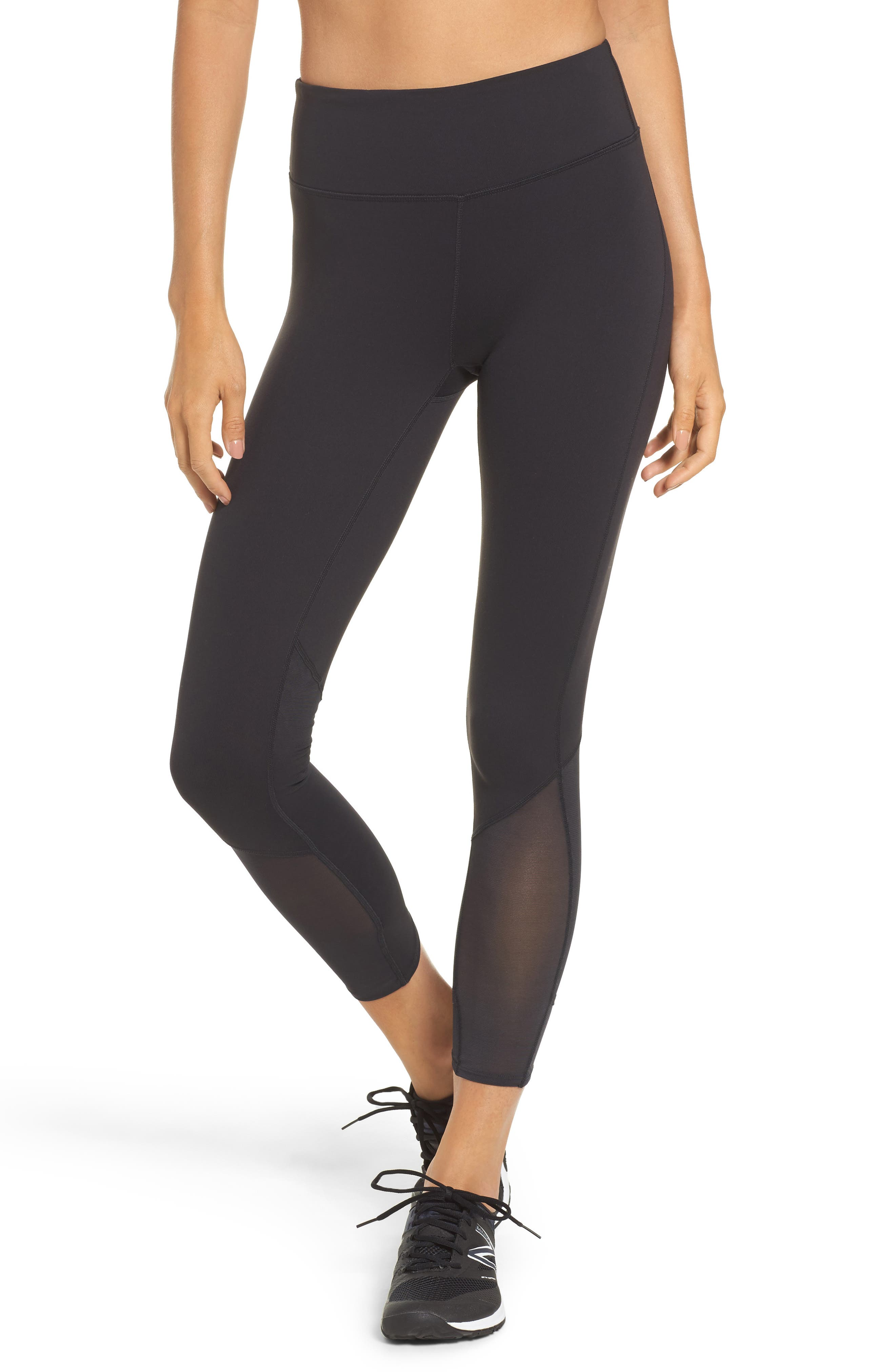 Alternate Image 1 Selected - New Balance Elixir High Waist Ankle Leggings