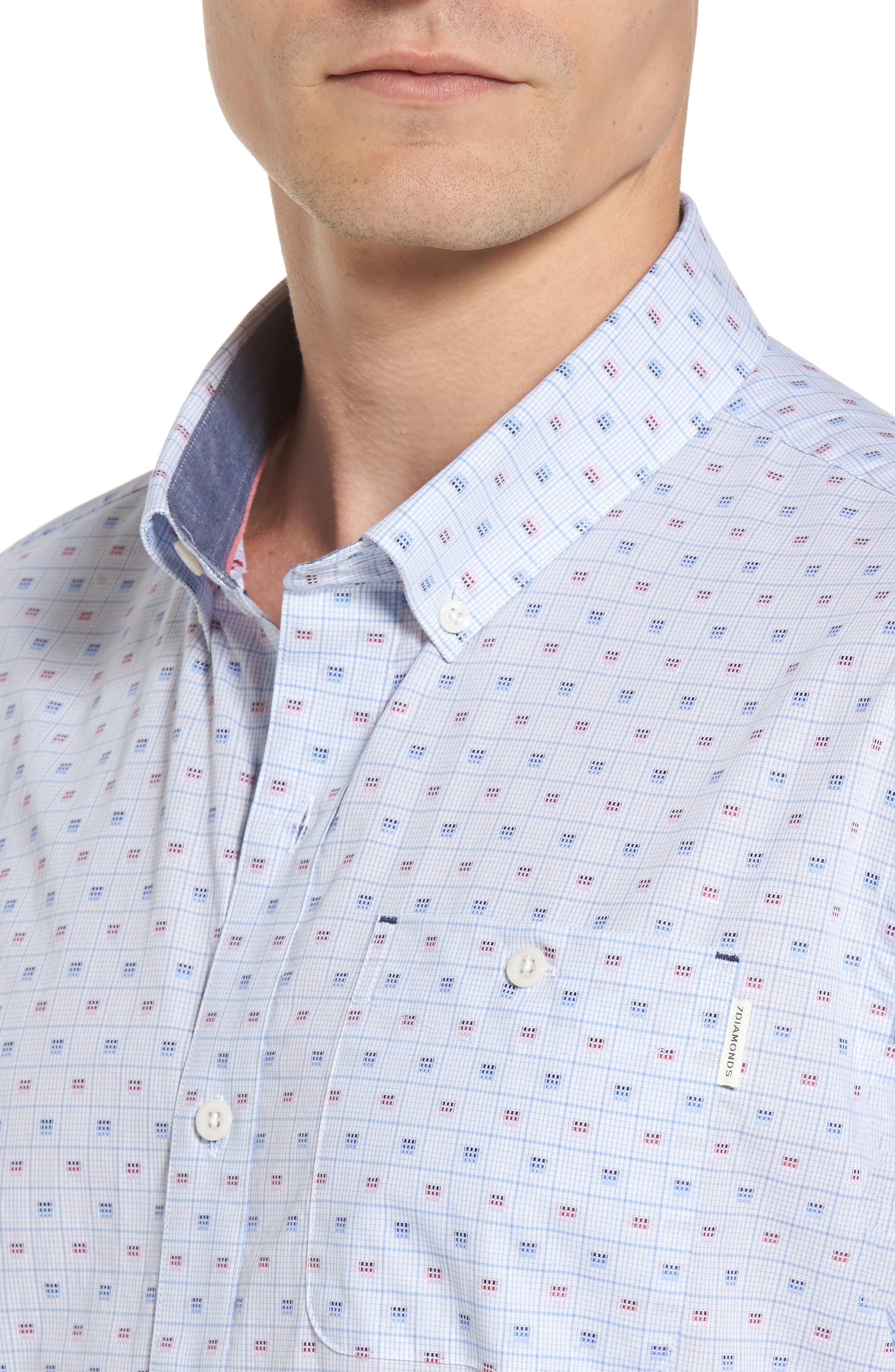 Alternate Image 4  - 7 Diamonds Atmosphere Woven Shirt