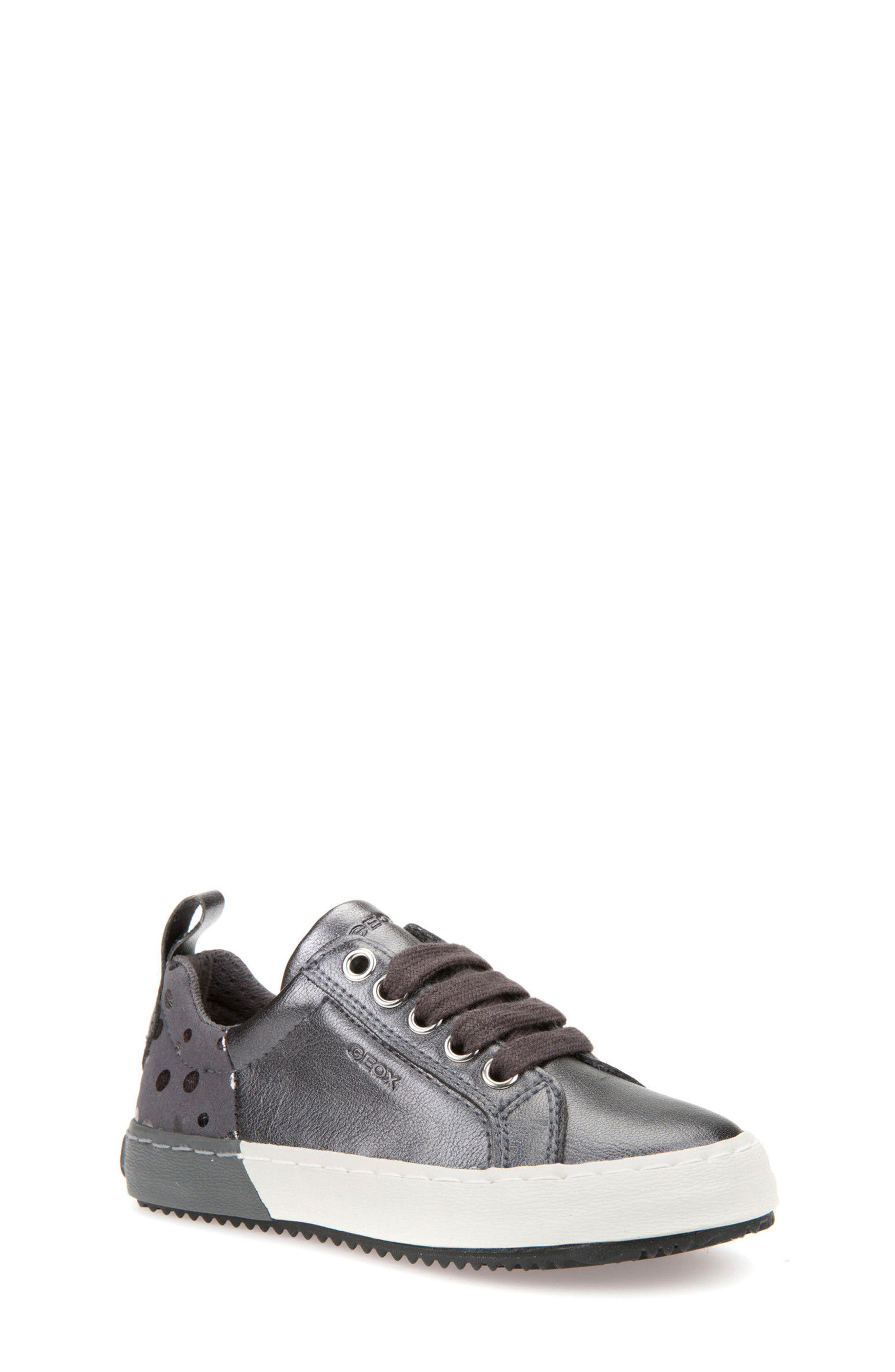 Geox Kalispera Girl Dotted Low-Top Sneaker (Toddler, Little Kid & Big Kid)