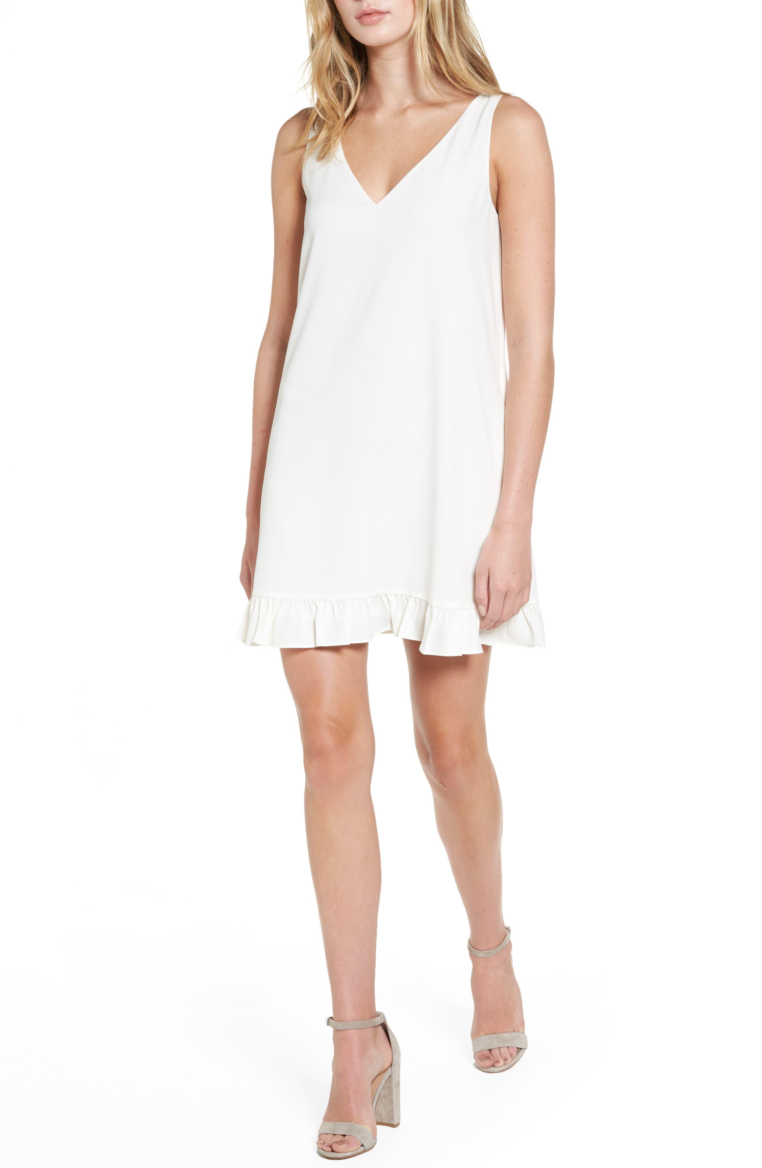 Agnes Shift Dress,                         Main,                         color, Ivory
