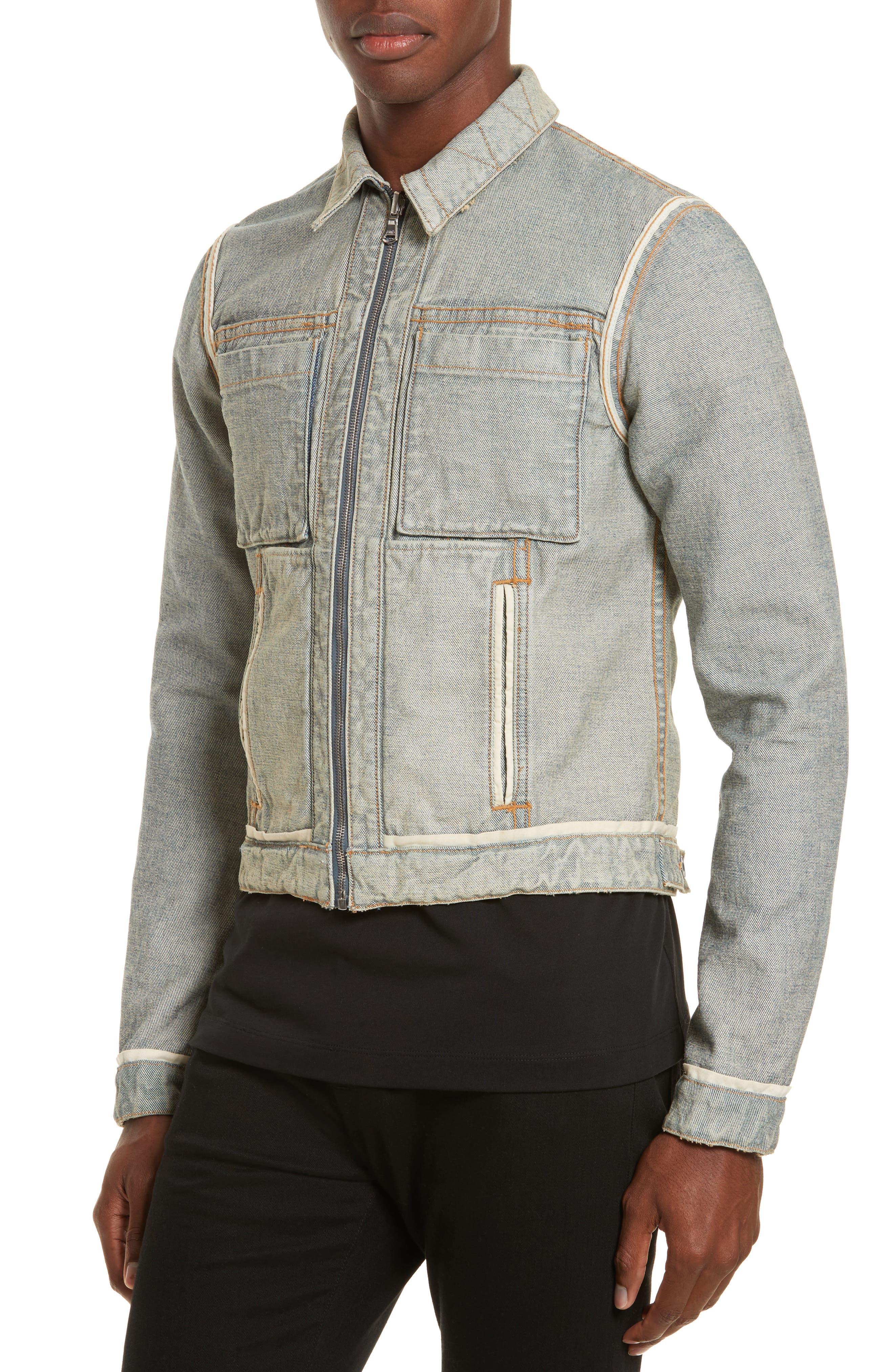 Alternate Image 2  - Helmut Lang Reversible 87 Denim Jacket