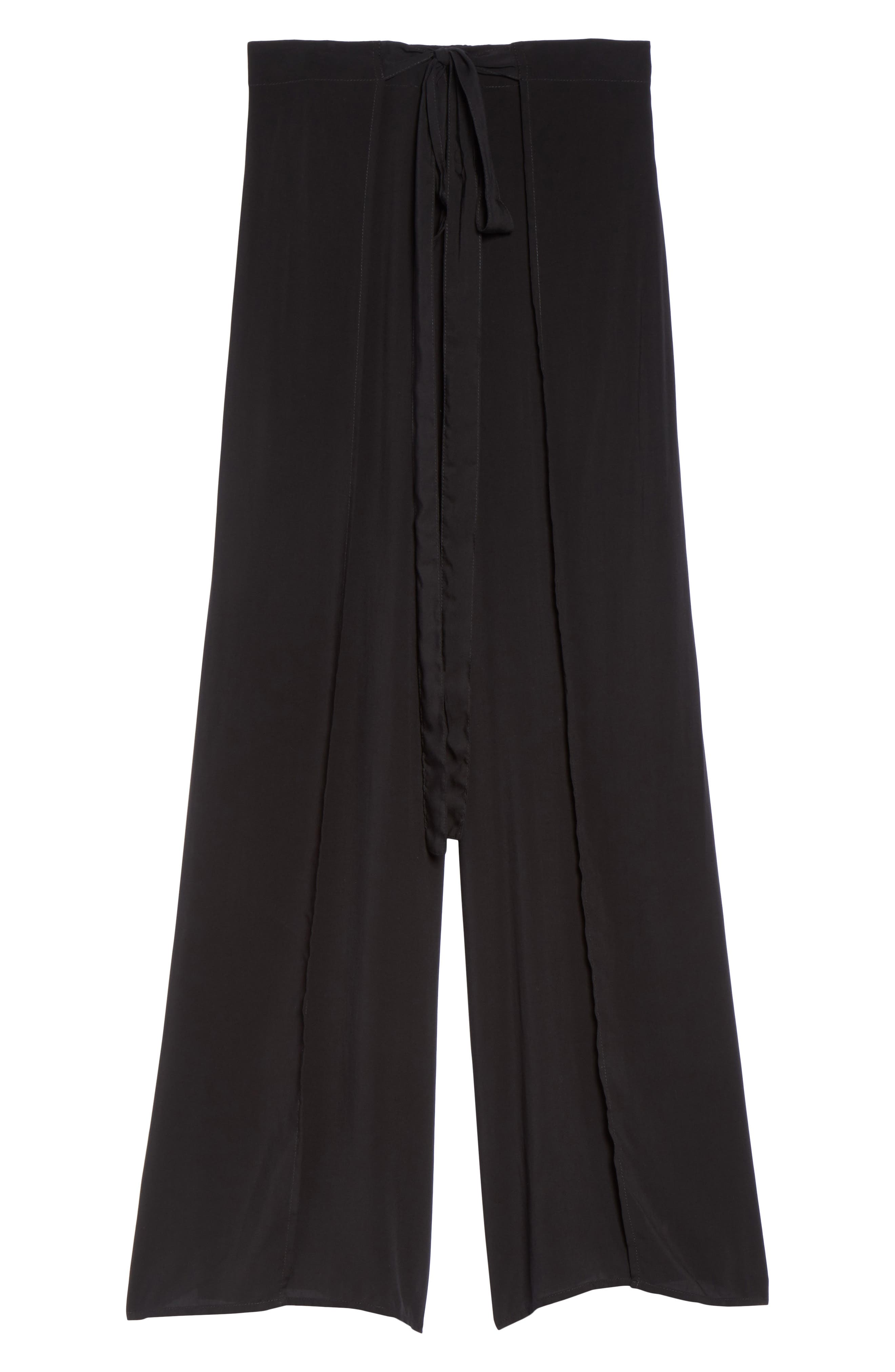 Alternate Image 6  - Elan Cover-Up Flyaway Pants