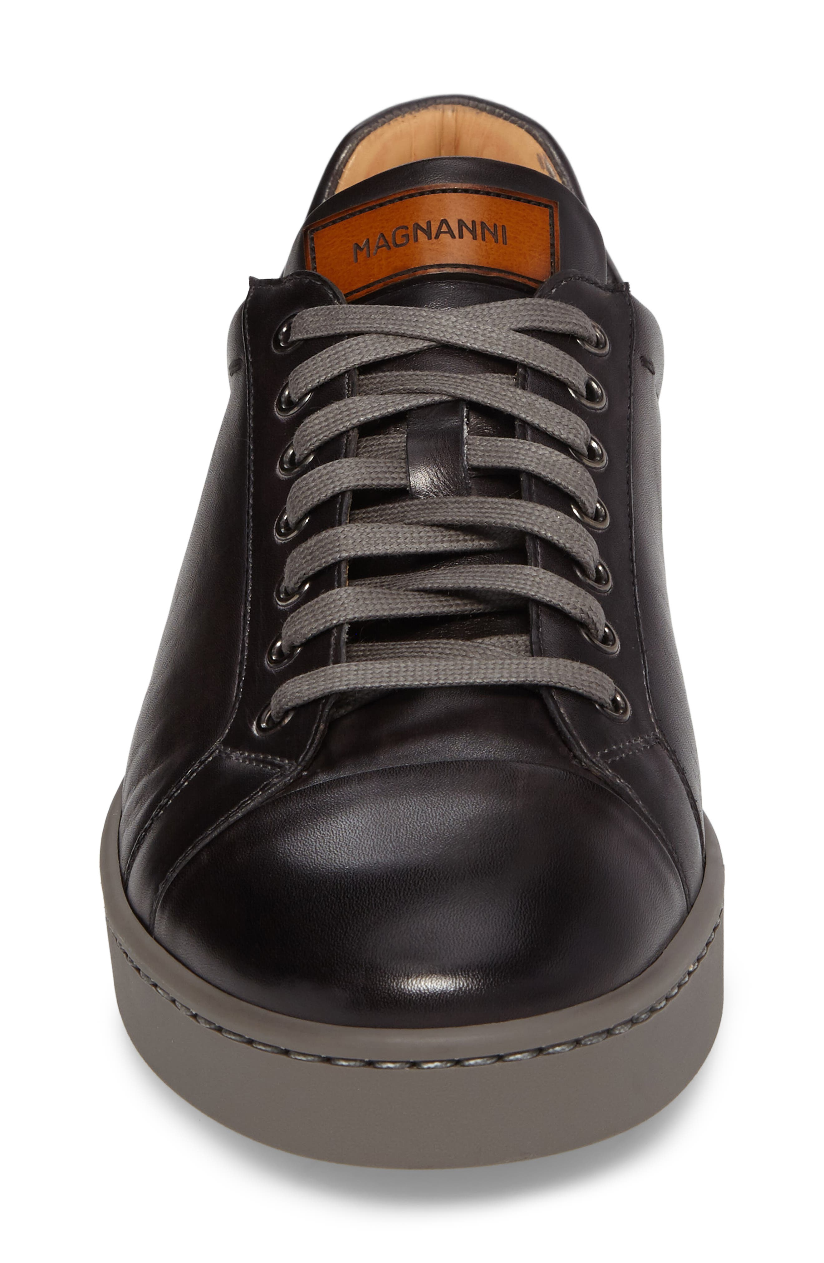 Caitin Sneaker,                             Alternate thumbnail 4, color,                             Grey Leather