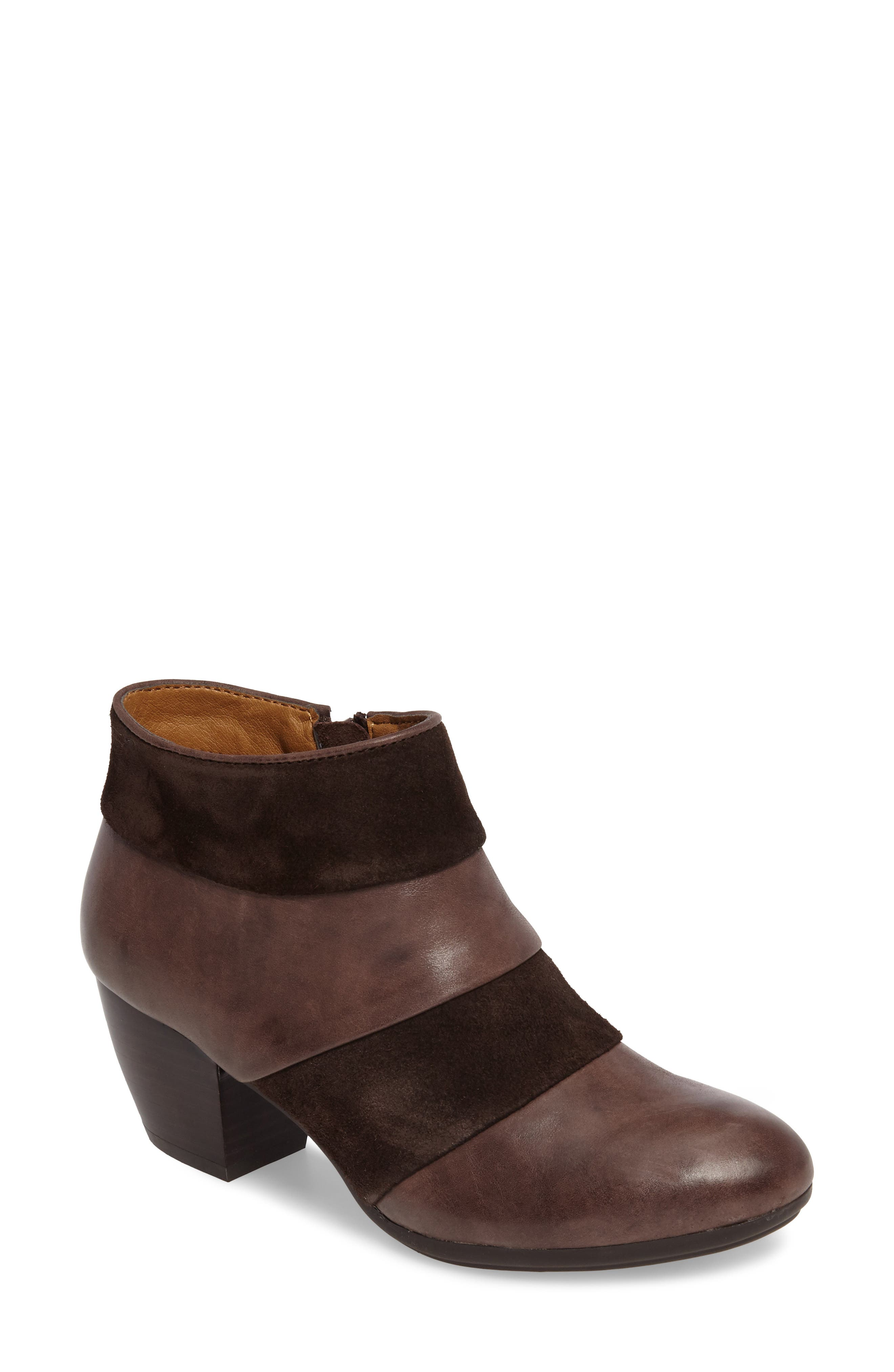 Alternate Image 1 Selected - Comfortiva Amesbury Colorblock Bootie (Women)