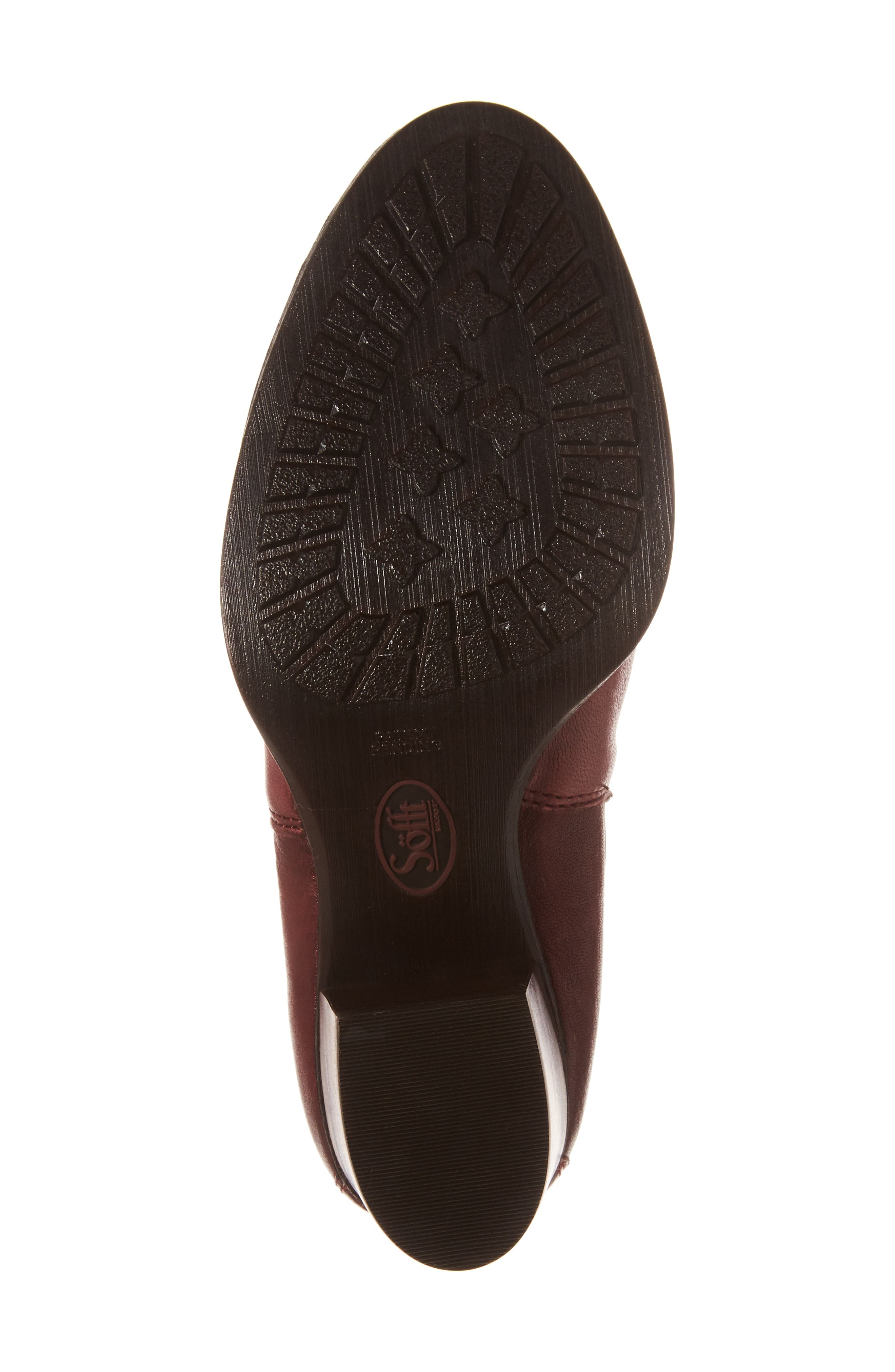Welling Bootie,                             Alternate thumbnail 6, color,                             Wine Red Leather